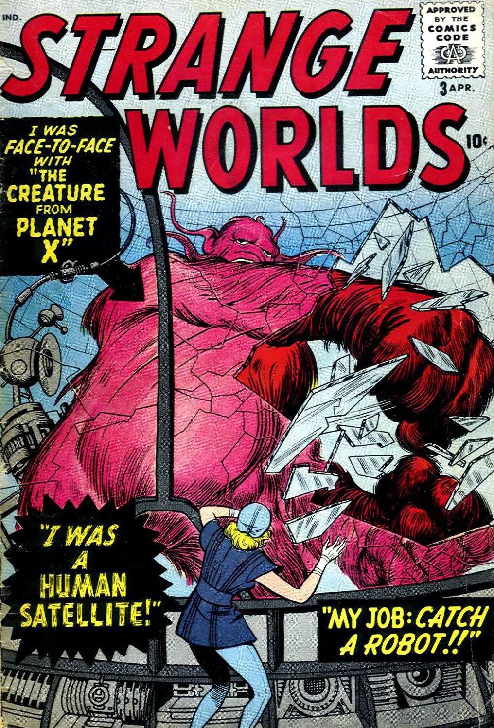 Strange Worlds issue 3 - Page 1