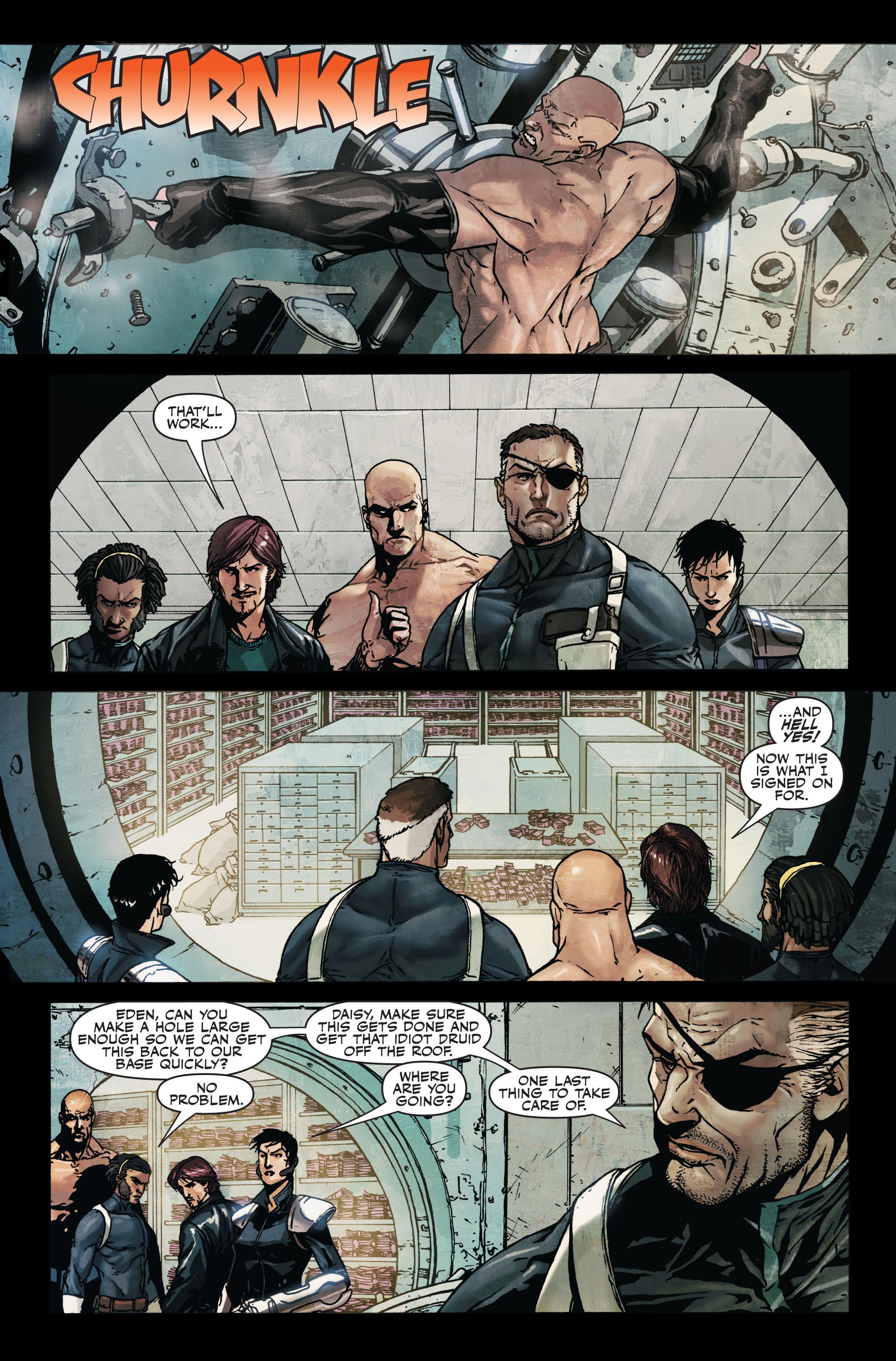 Read online Secret Warriors comic -  Issue #7 - 8