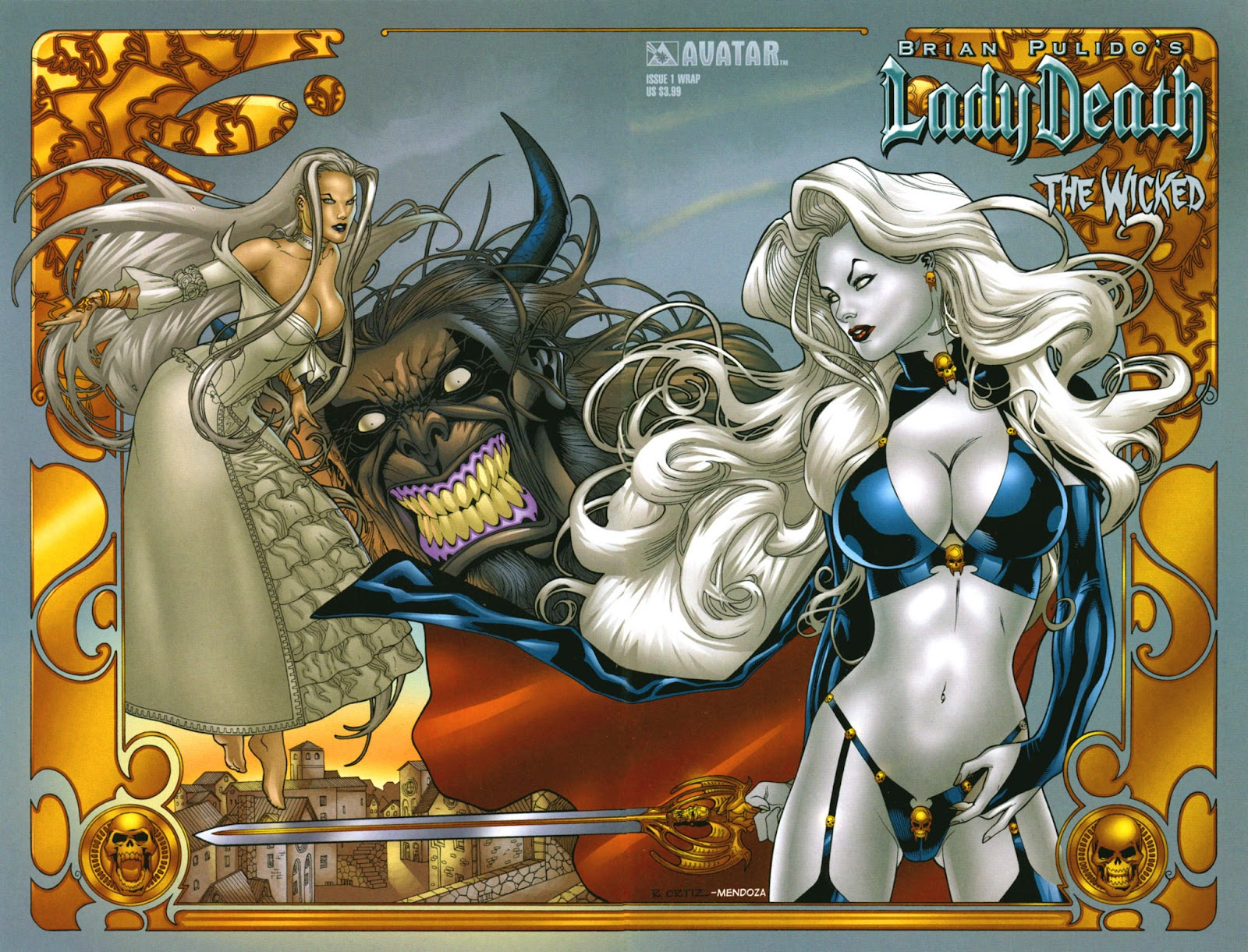Read online Lady Death: The Wicked comic -  Issue #1 - 2