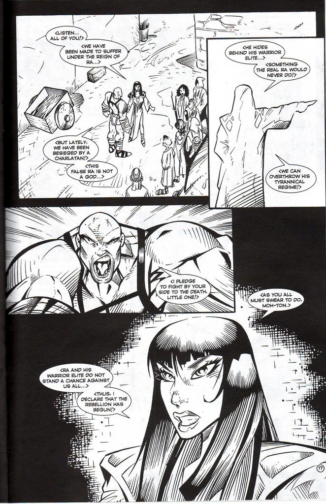 Read online Stargate: One Nation Under Ra comic -  Issue # Full - 19