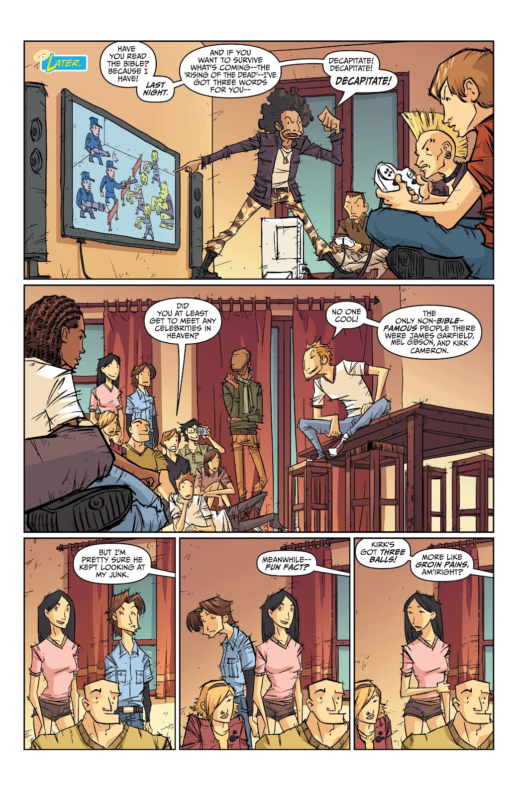 Read online The End Times of Bram and Ben comic -  Issue #2 - 11
