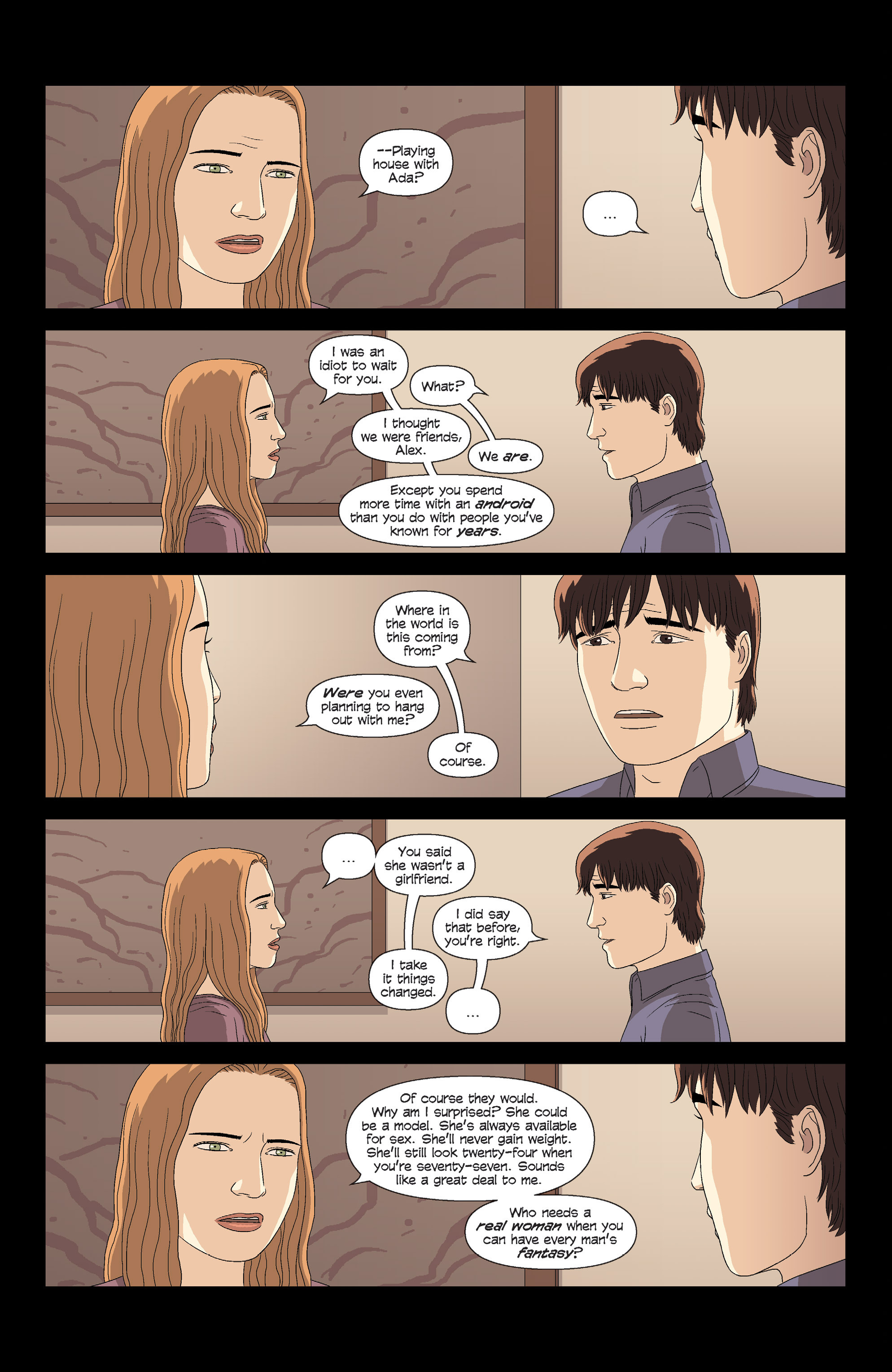 Read online Alex   Ada comic -  Issue # _TPB 3 - 21