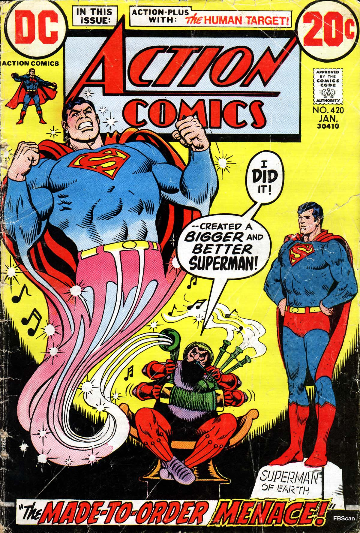 Read online Action Comics (1938) comic -  Issue #420 - 1