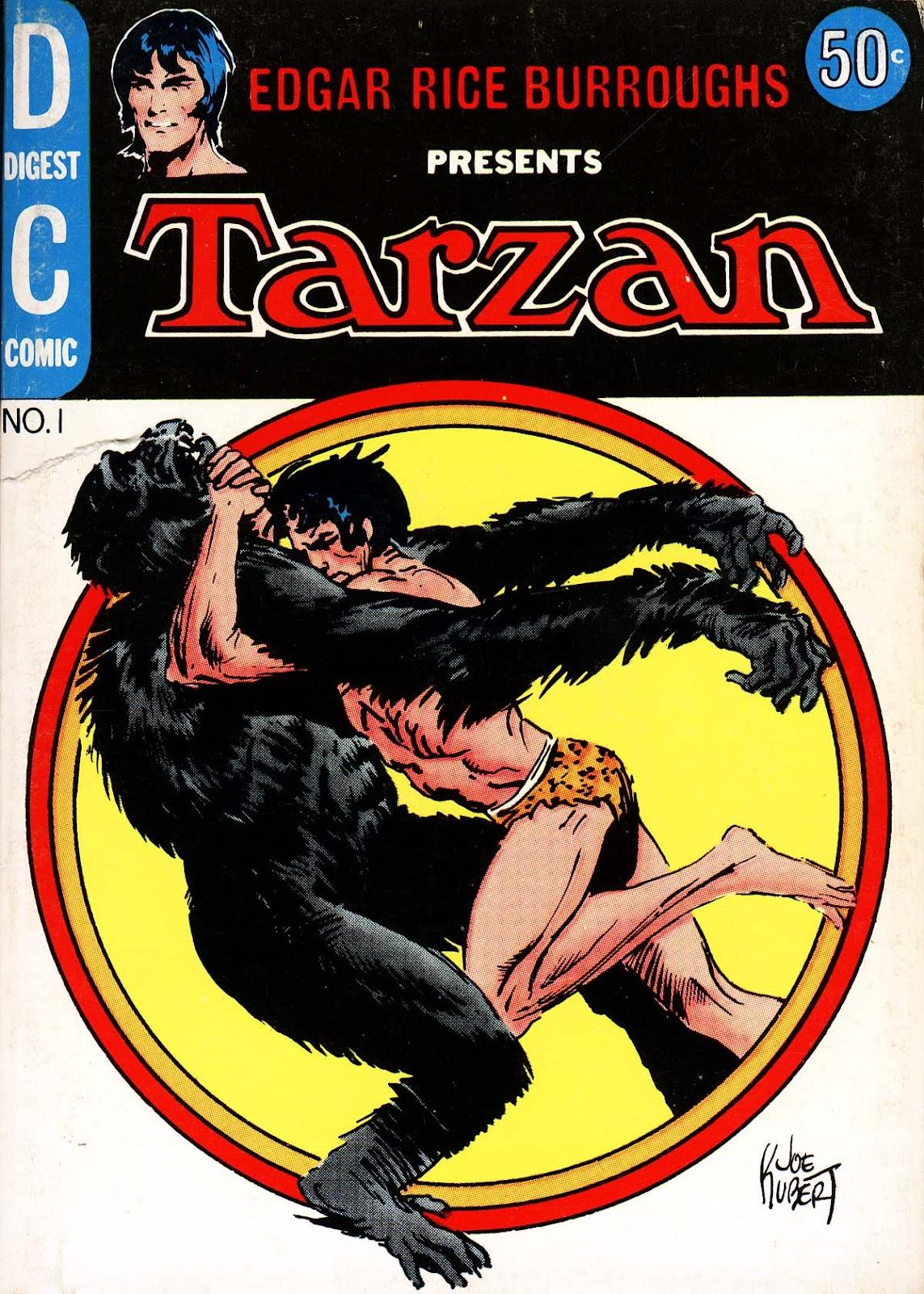 Tarzan Digest issue TPB (Part 1) - Page 1