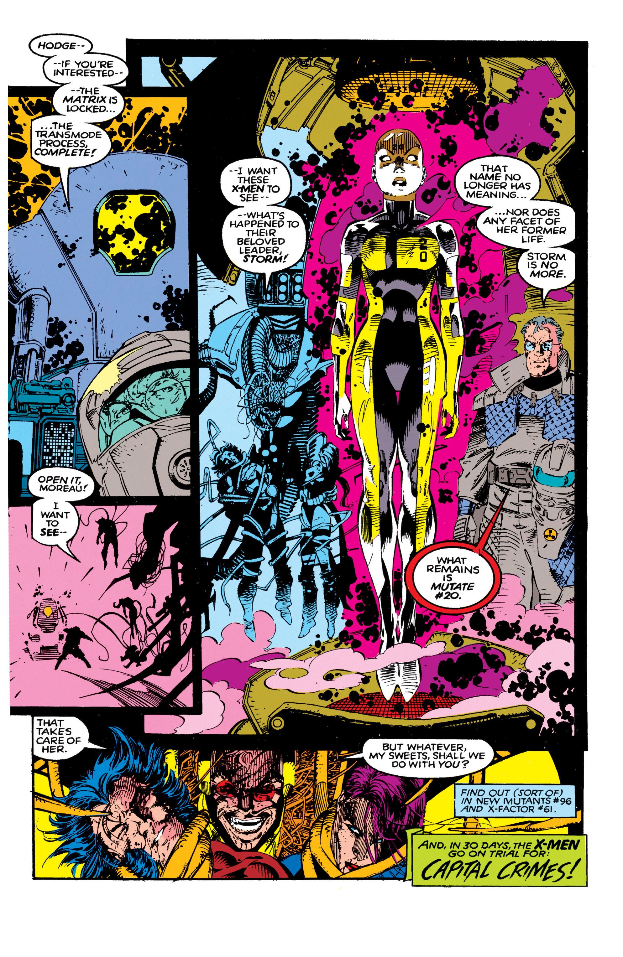 Read online Uncanny X-Men (1963) comic -  Issue #271 - 23