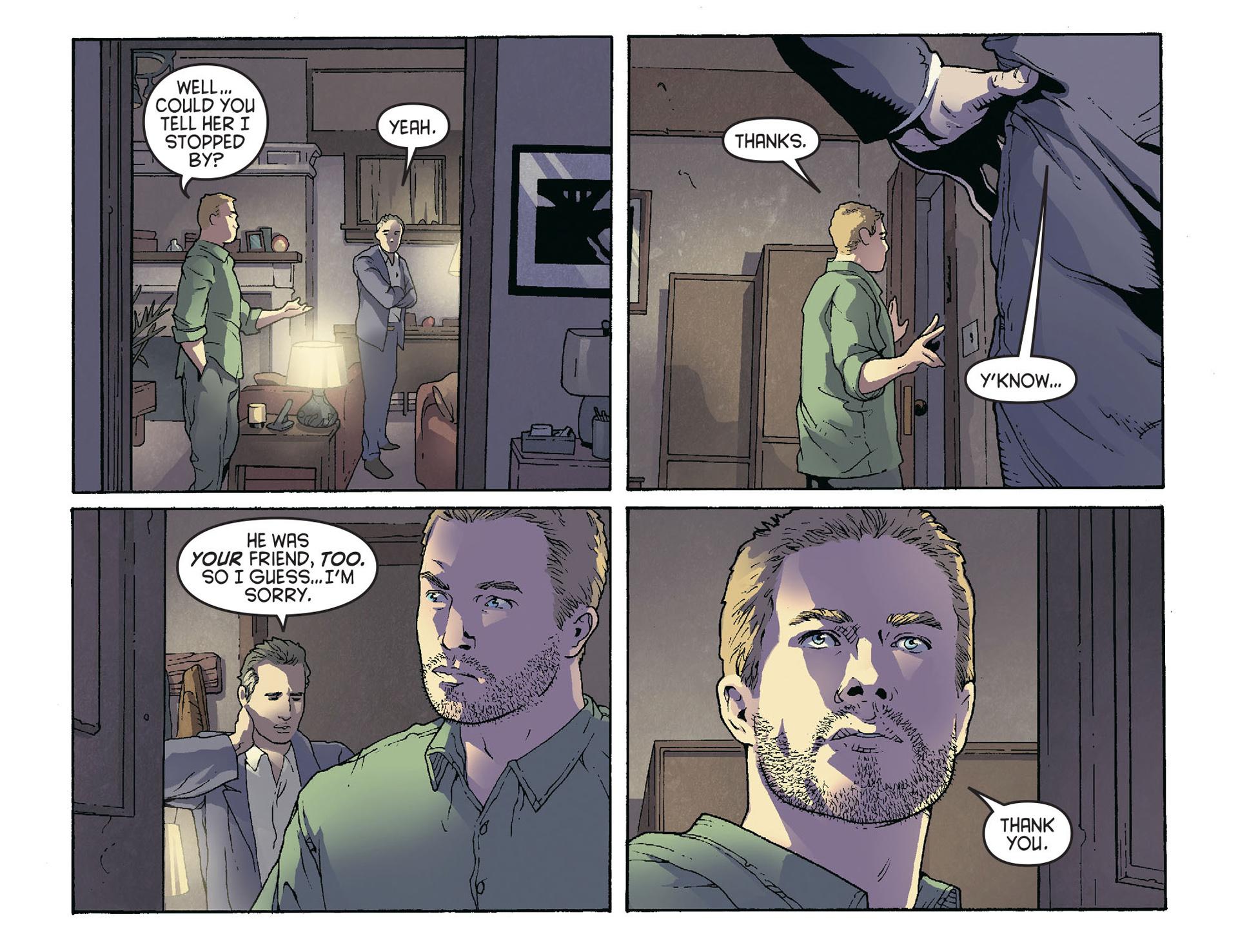 Read online Arrow [II] comic -  Issue #36 - 7