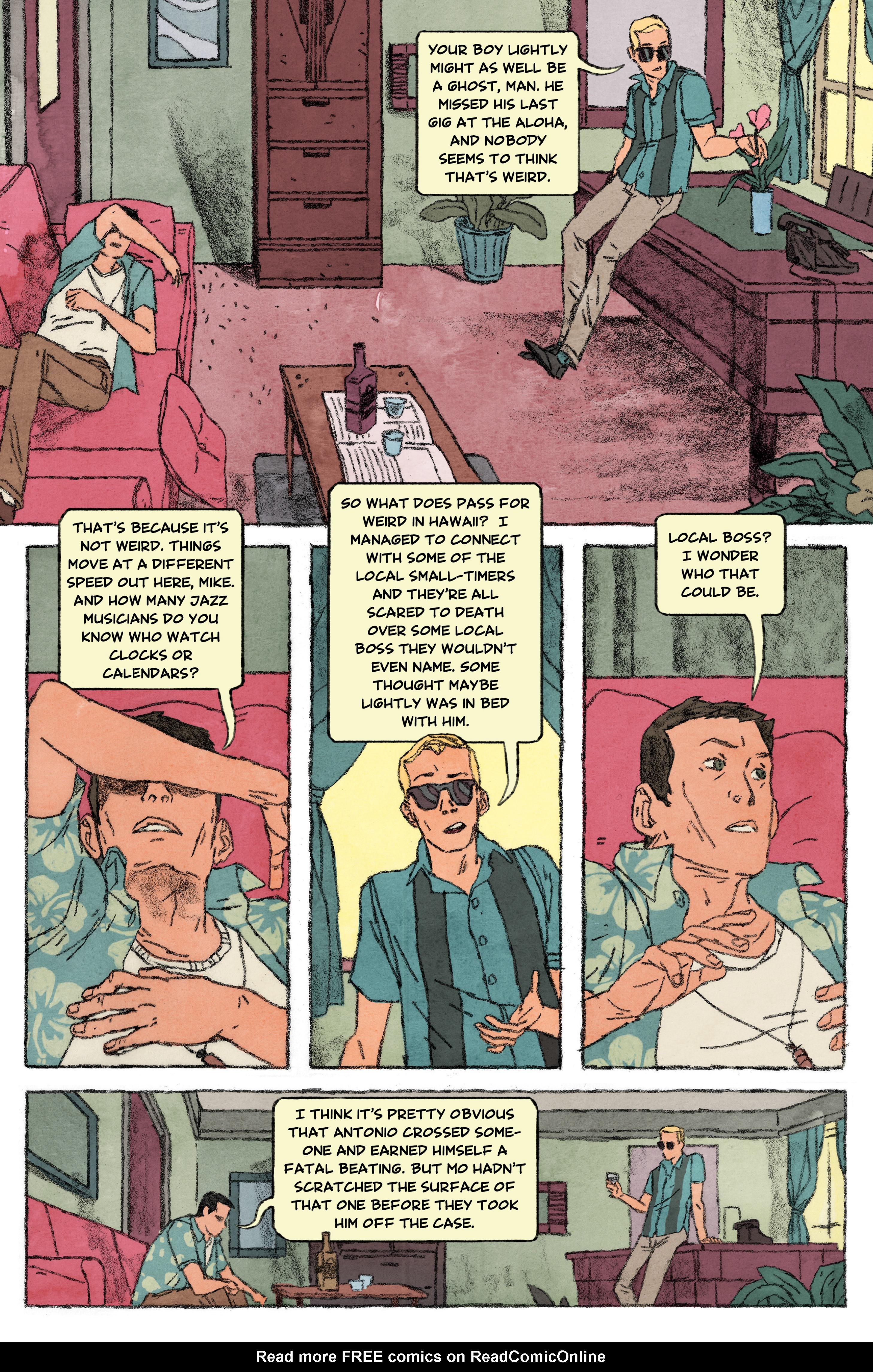 Read online Aloha, Hawaiian Dick comic -  Issue #4 - 4