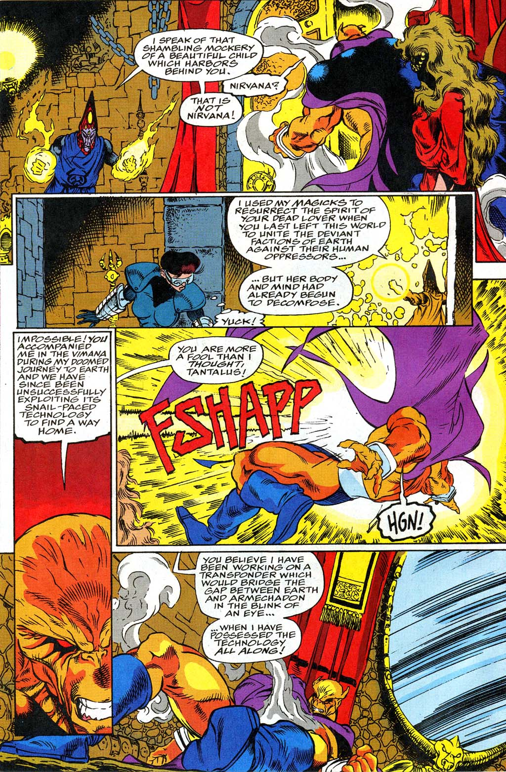 Read online Blackwulf comic -  Issue #9 - 4