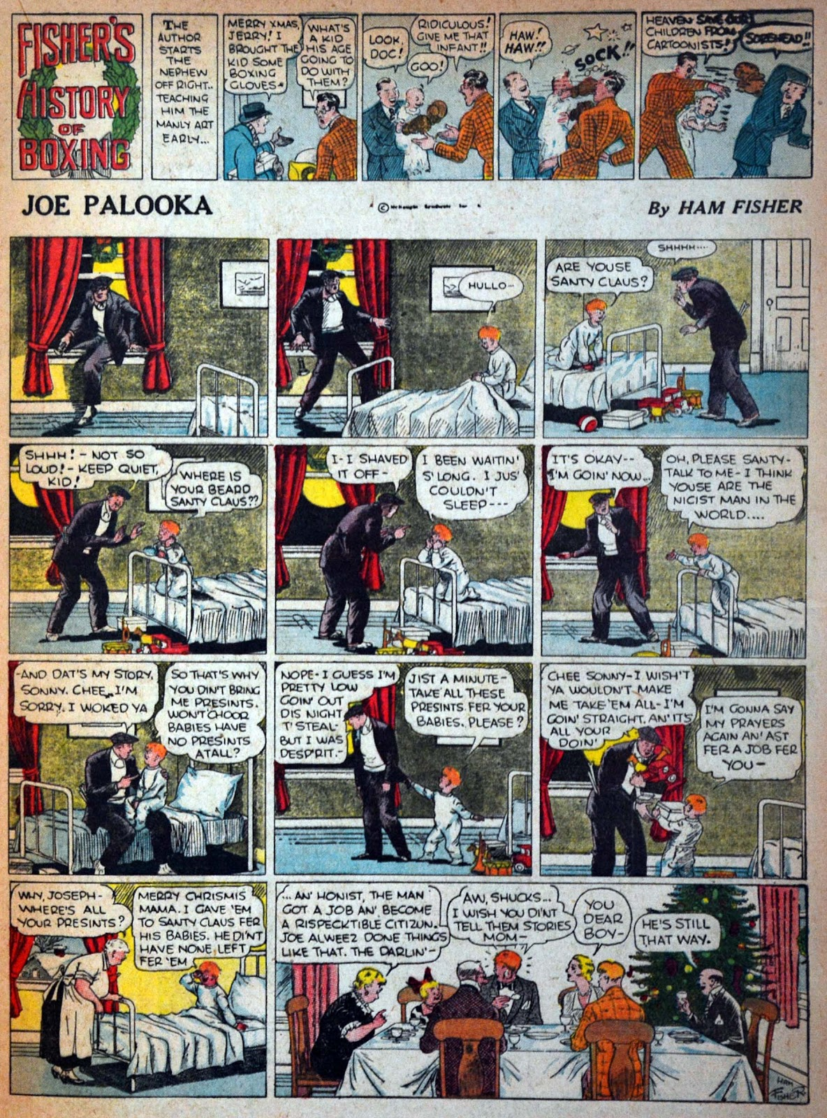Read online Famous Funnies comic -  Issue #29 - 31