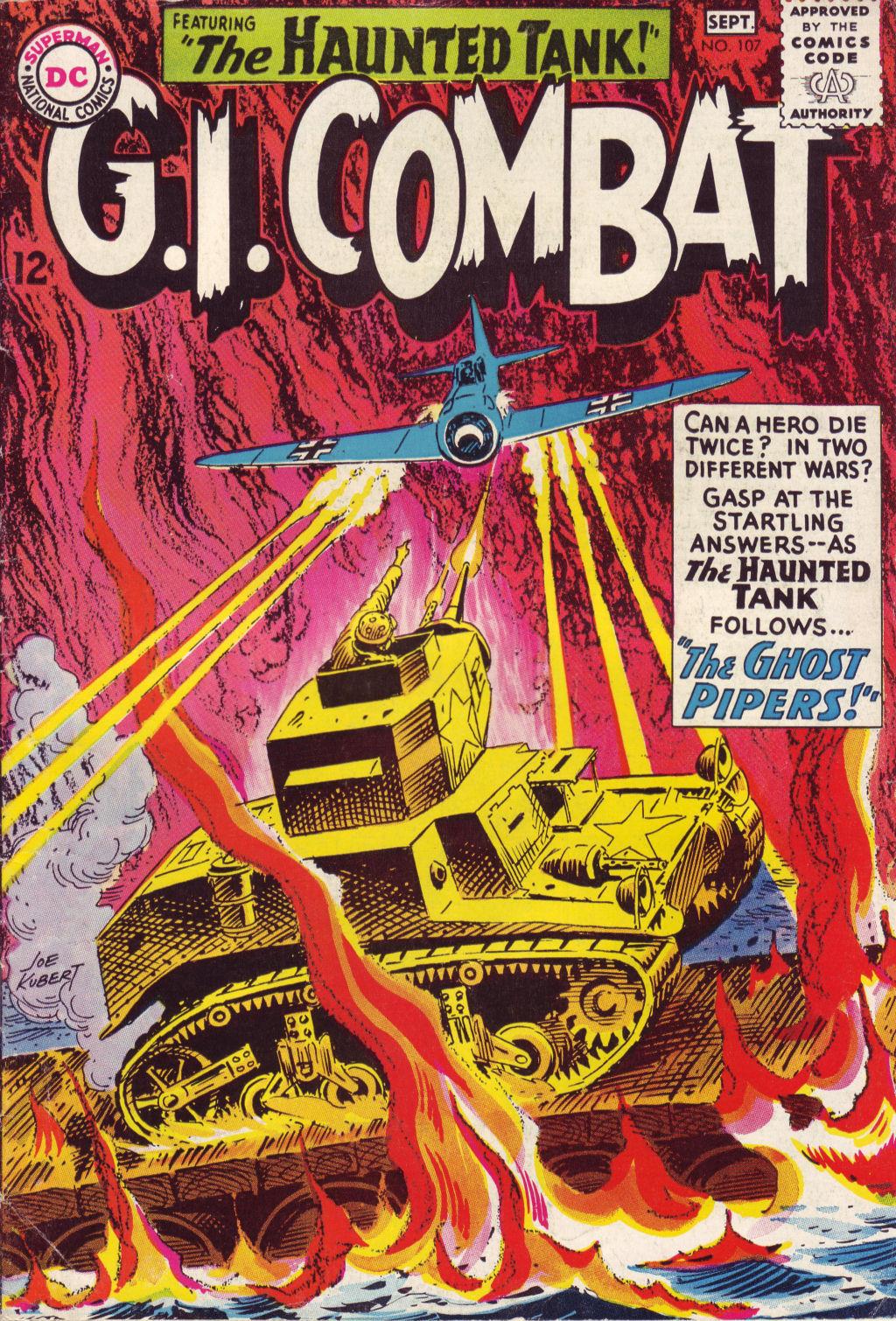 G.I. Combat (1952) 107 Page 1