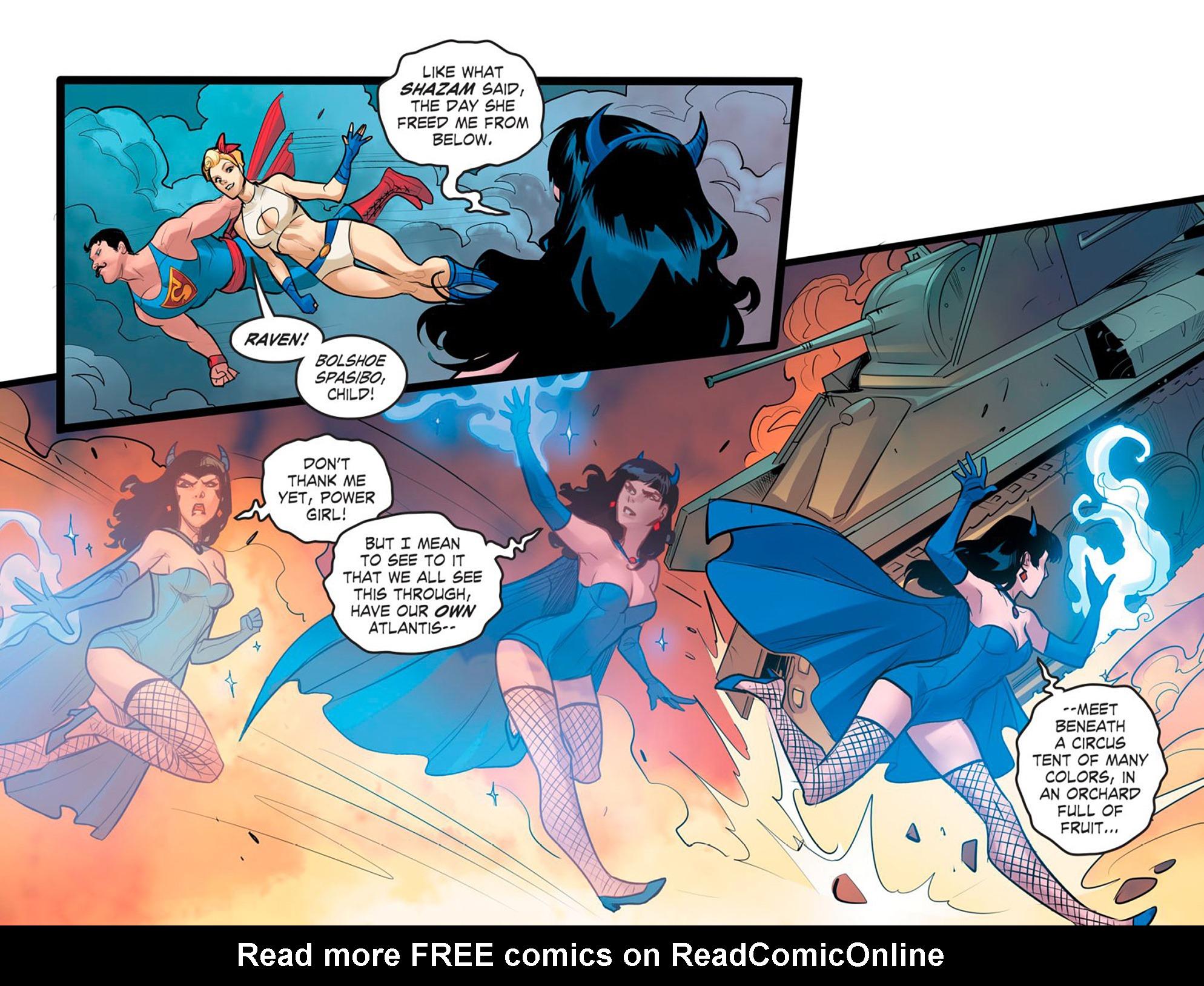 Read online DC Comics: Bombshells comic -  Issue #95 - 22