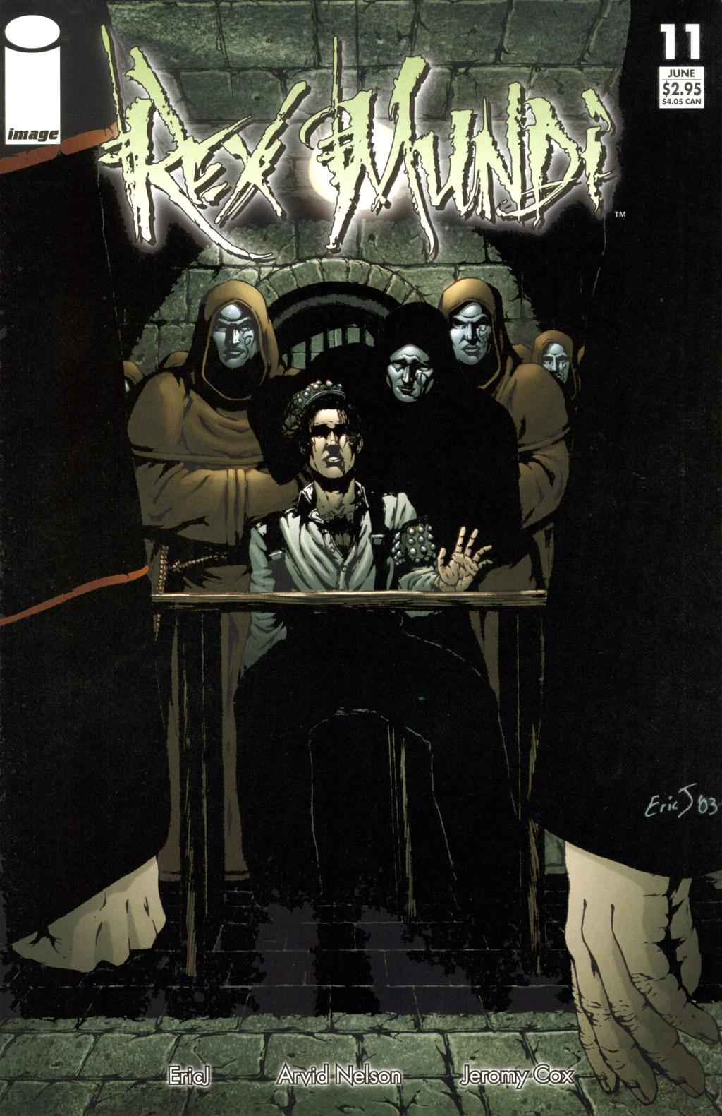 Read online Rex Mundi comic -  Issue #11 - 1