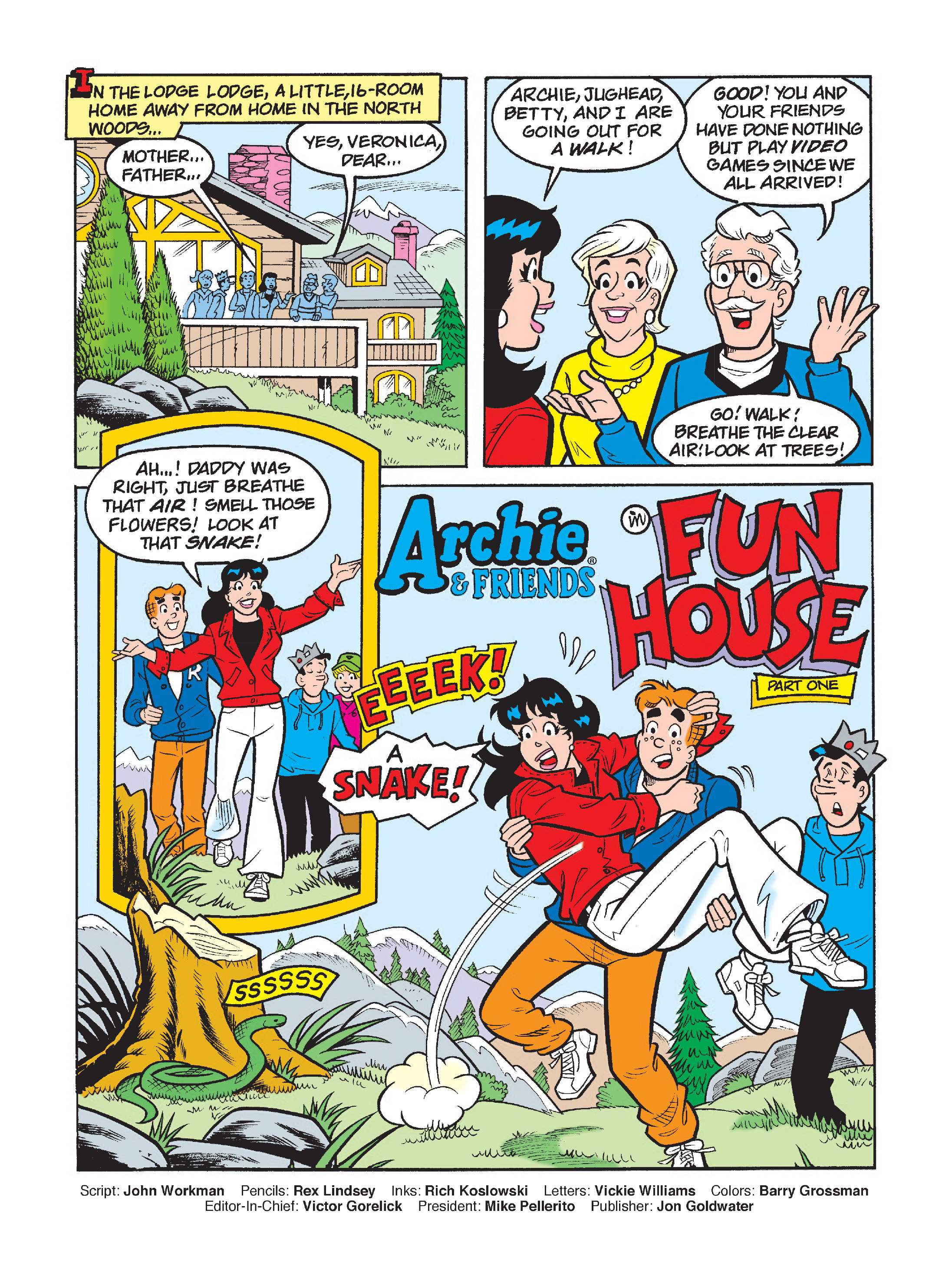Read online Archie's Funhouse Double Digest comic -  Issue #1 - 2