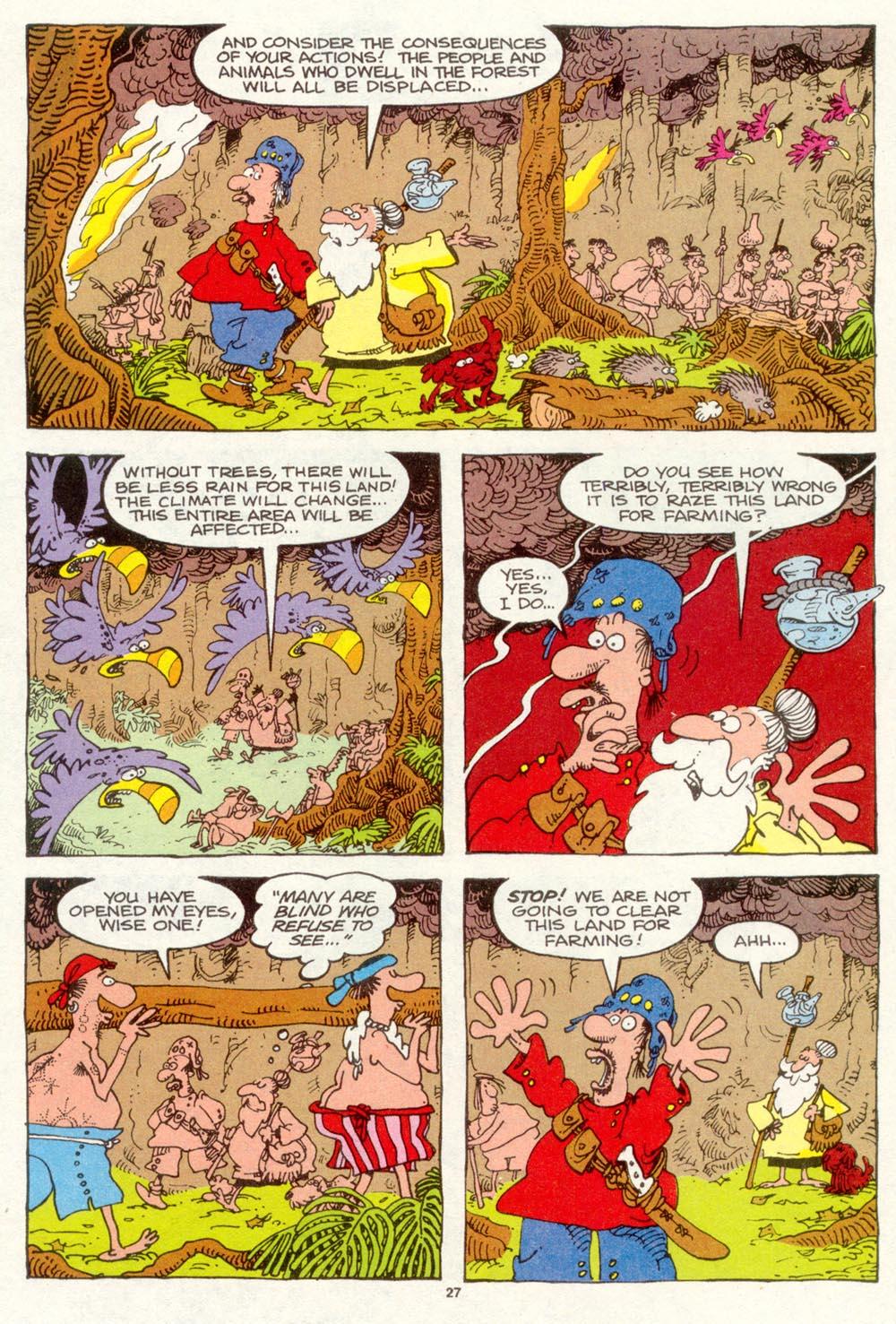 Read online Sergio Aragonés Groo the Wanderer comic -  Issue #93 - 28