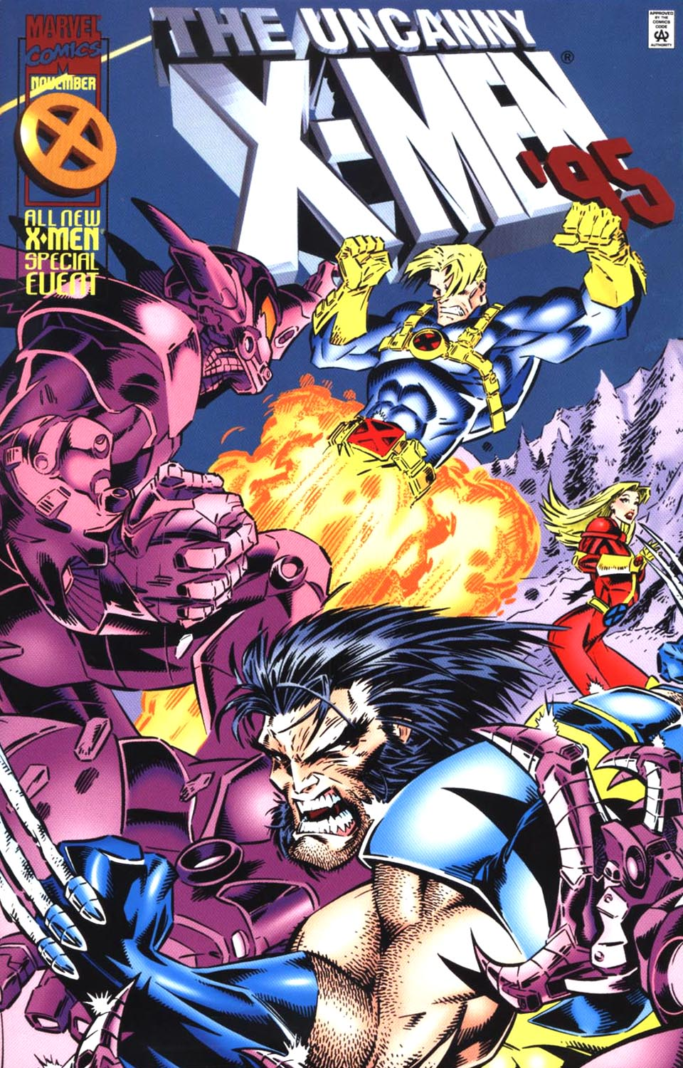 Read online Uncanny X-Men (1963) comic -  Issue # _Annual 1995 - 1