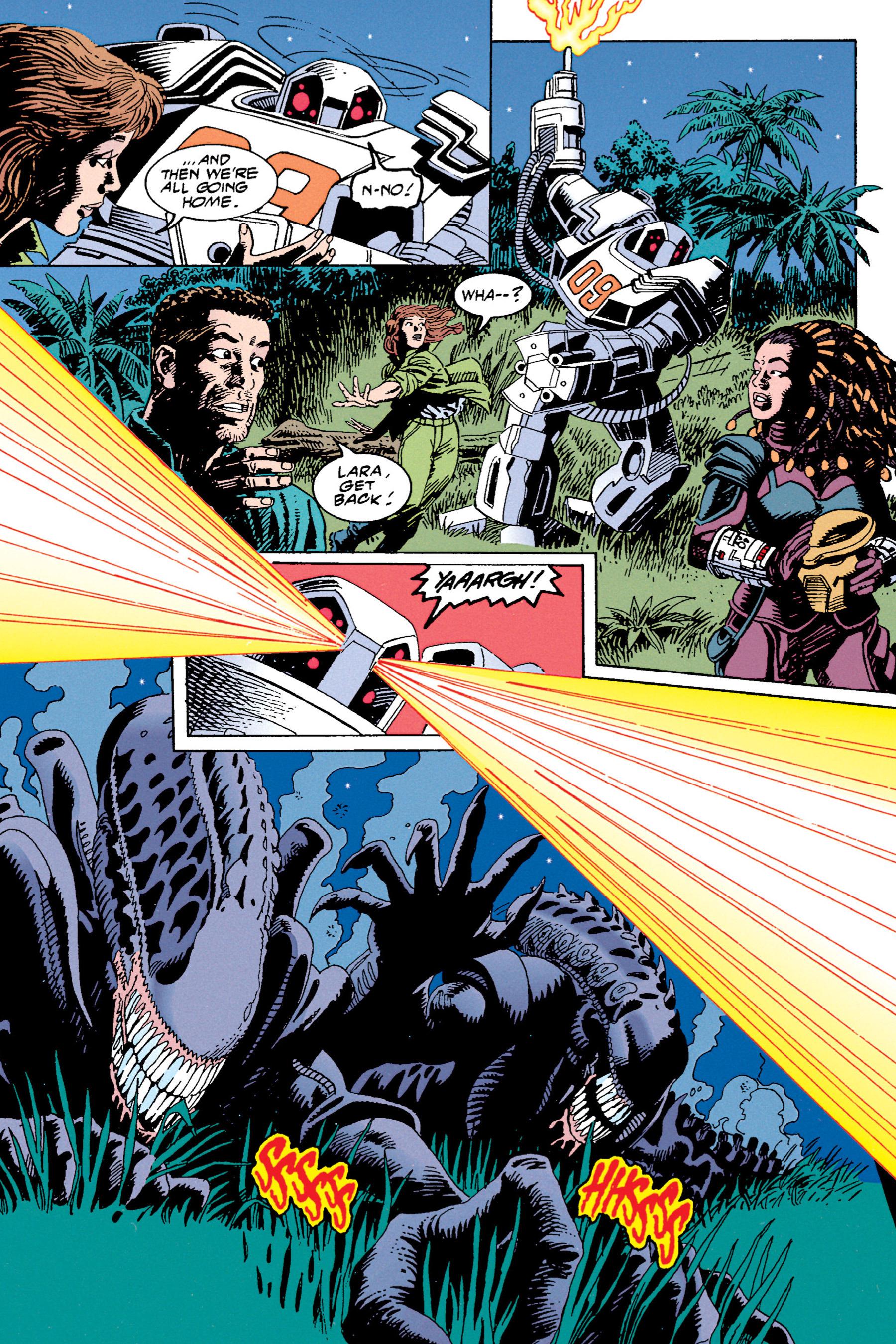 Read online Aliens vs. Predator Omnibus comic -  Issue # _TPB 1 Part 4 - 23