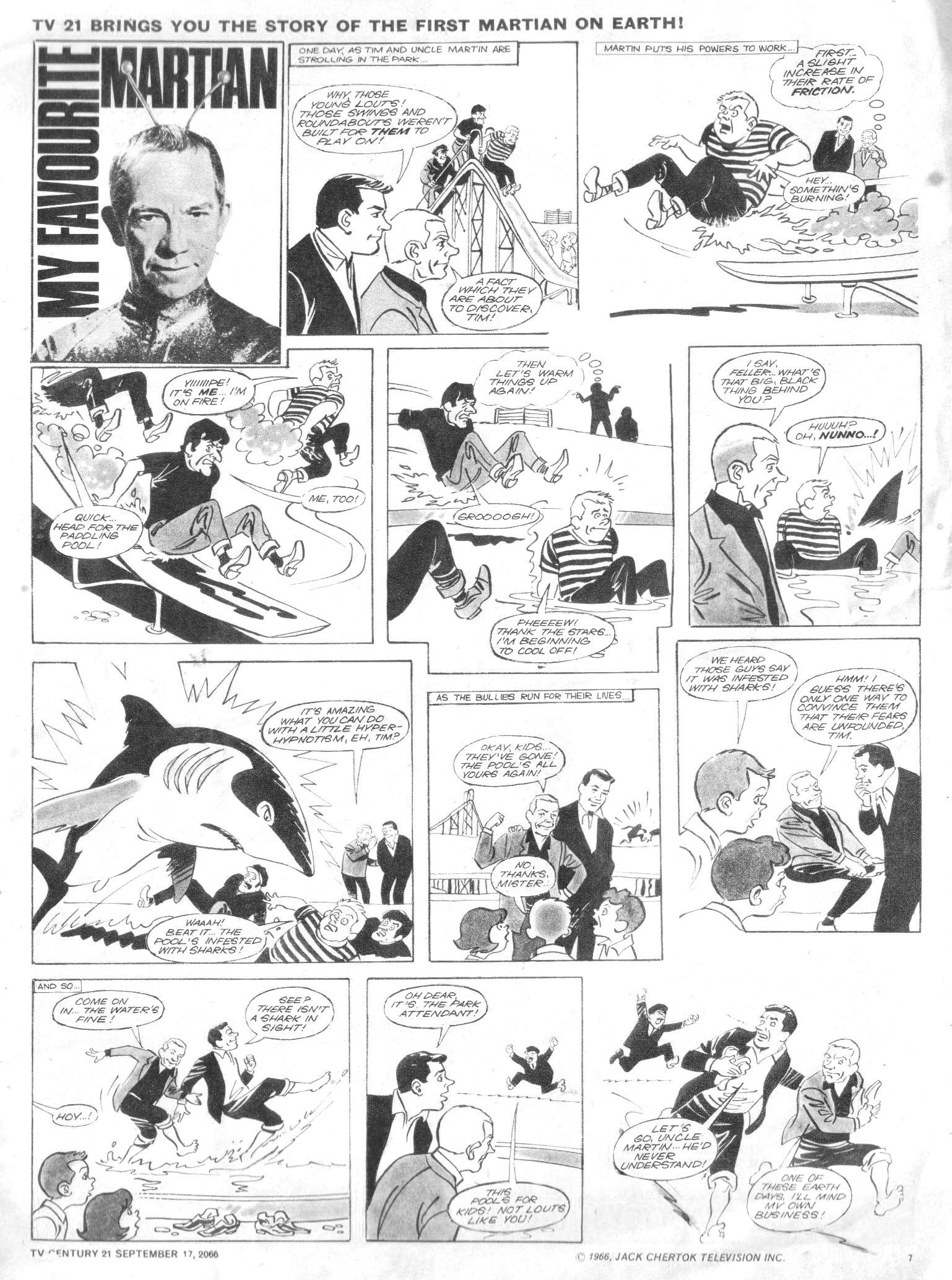 Read online TV Century 21 (TV 21) comic -  Issue #87 - 7