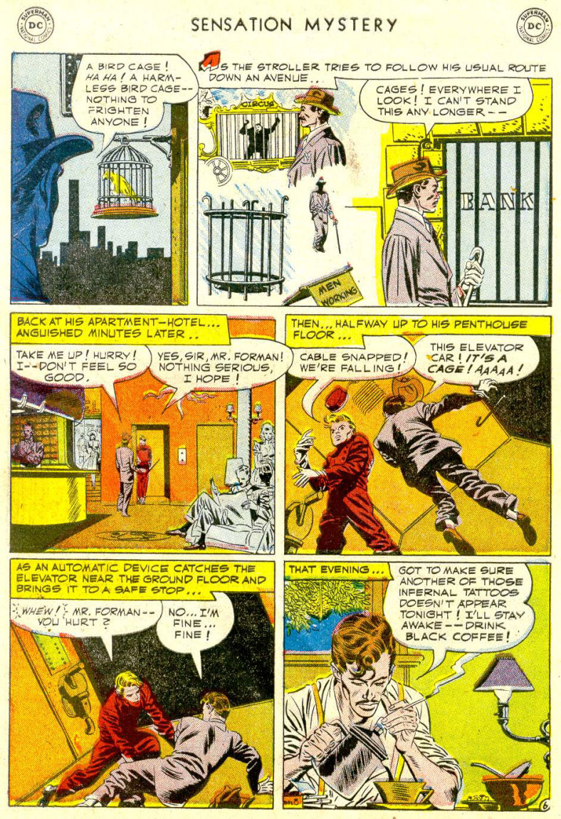 Read online Sensation (Mystery) Comics comic -  Issue #112 - 30