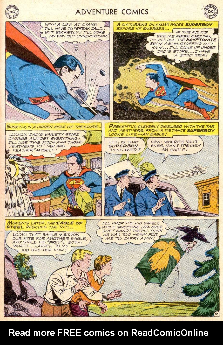 Read online Adventure Comics (1938) comic -  Issue #256 - 11
