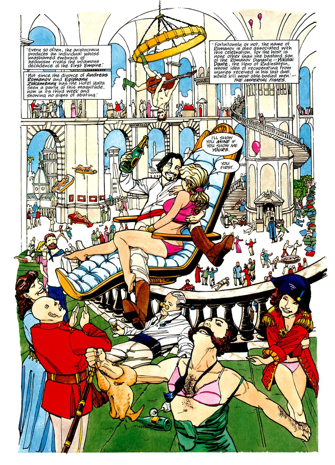 Read online Nikolai Dante comic -  Issue # TPB 1 - 101