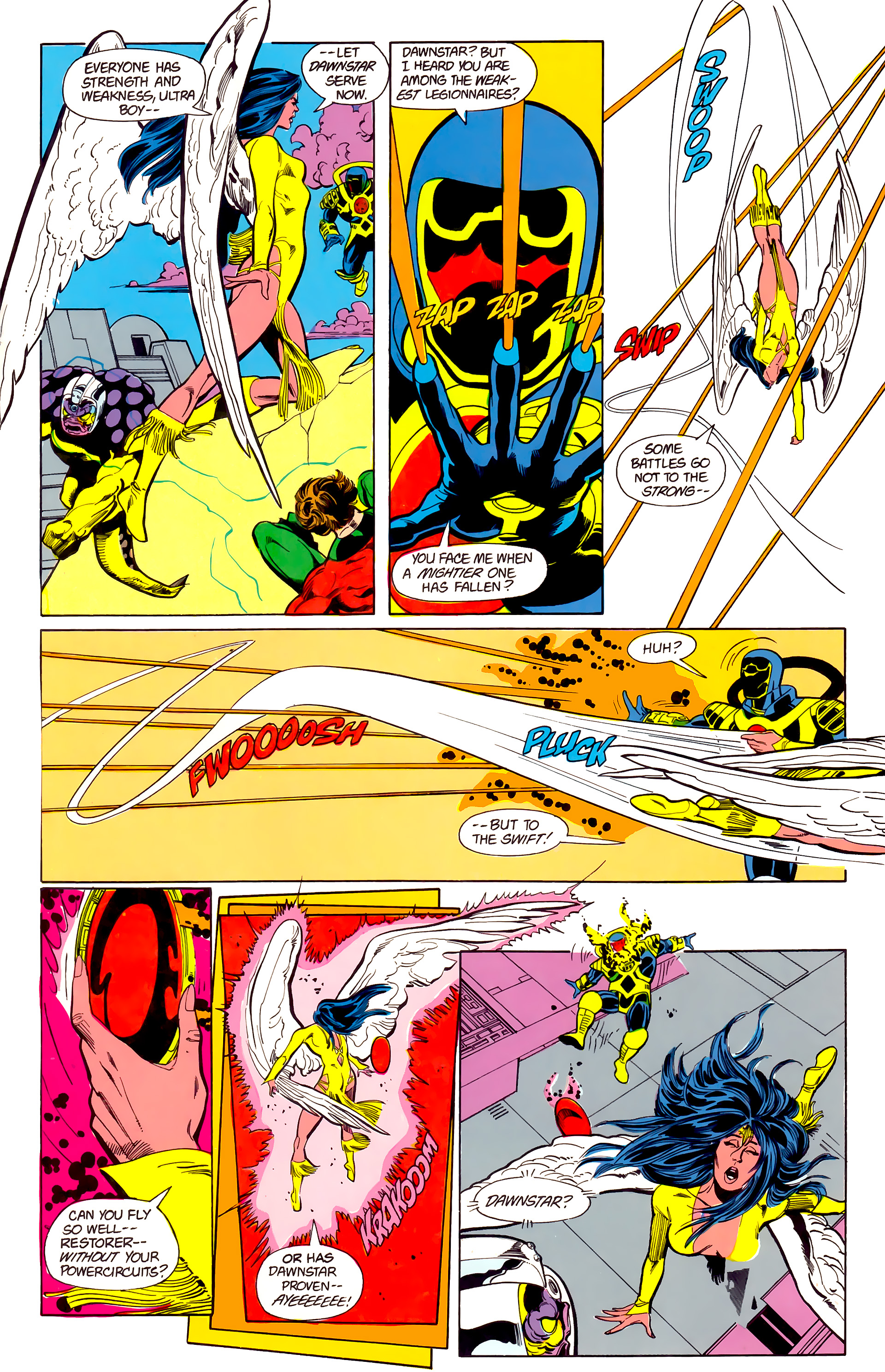 Legion of Super-Heroes (1984) 22 Page 24