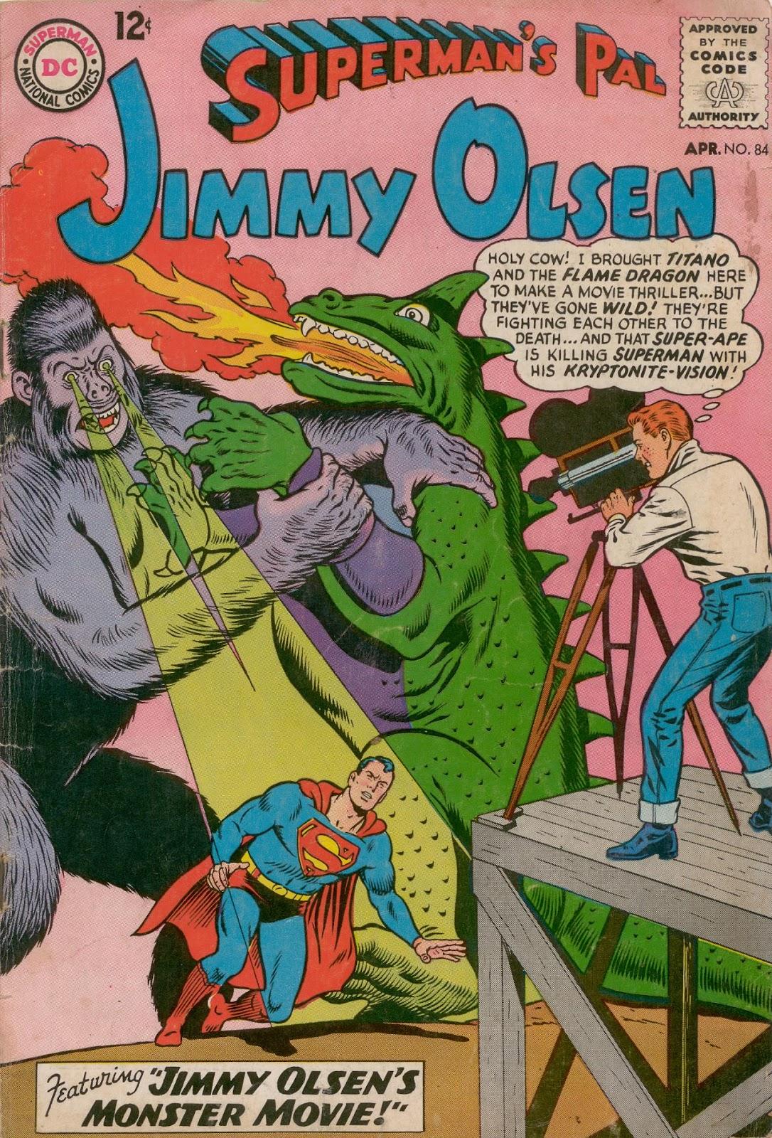 Supermans Pal Jimmy Olsen (1954) 84 Page 1