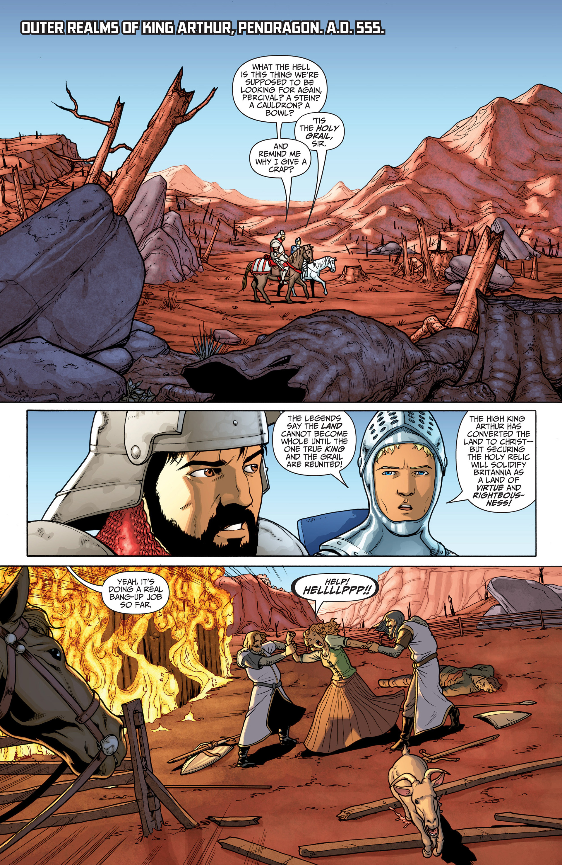 Read online Archer and Armstrong comic -  Issue #22 - 3
