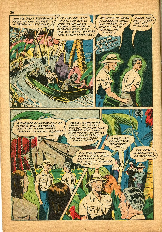 Read online Super-Magician Comics comic -  Issue #9 - 26