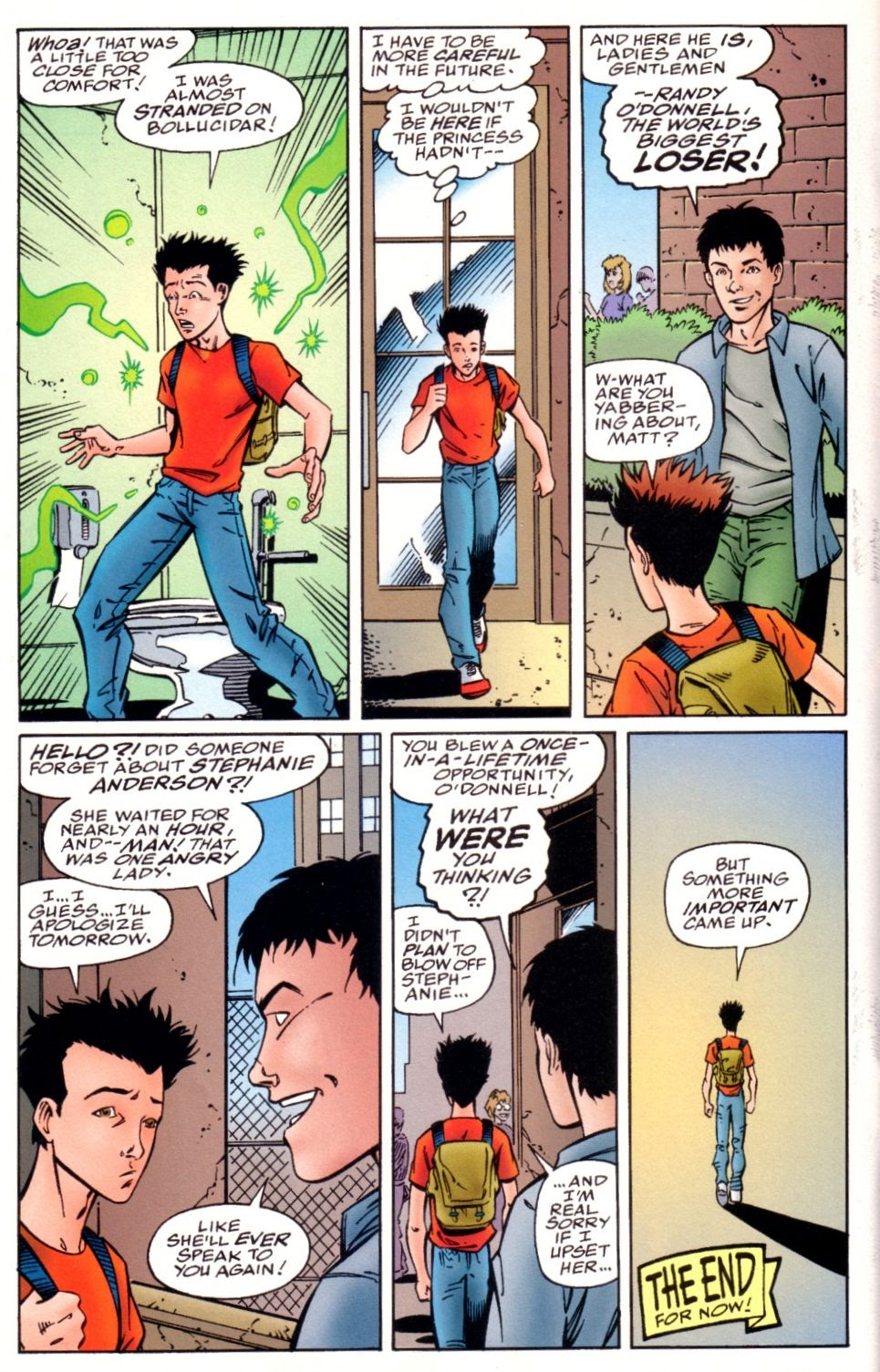 Read online Randy O'Donnell is The M@N comic -  Issue #3 - 24