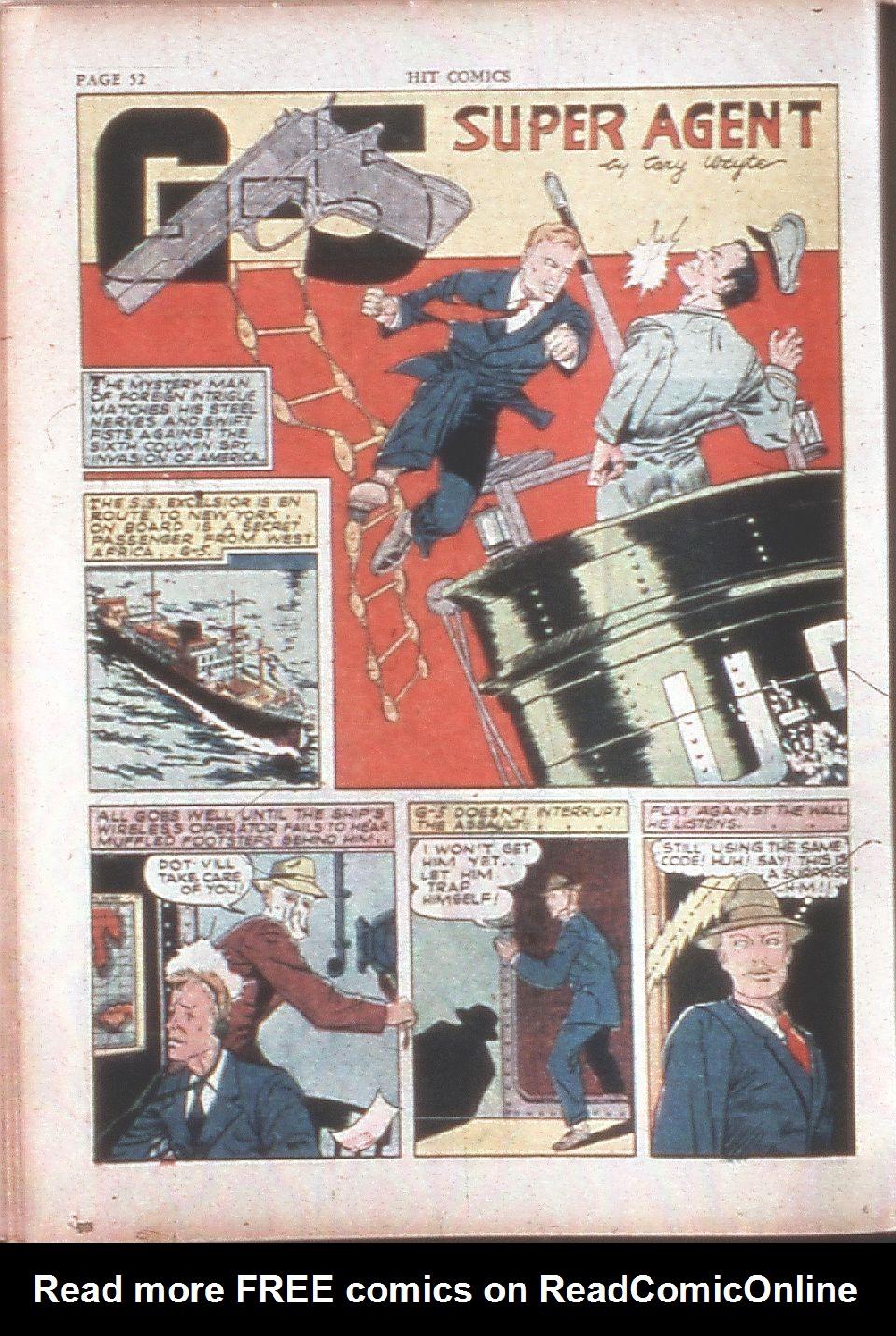 Read online Hit Comics comic -  Issue #15 - 54