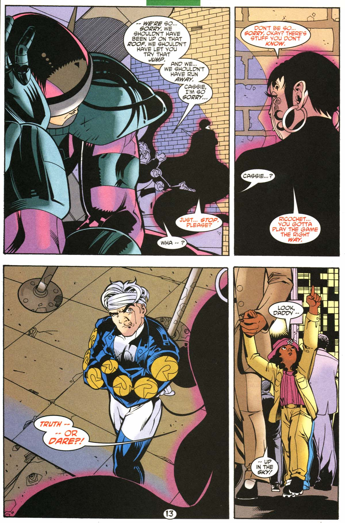 Read online Slingers comic -  Issue #6 - 14