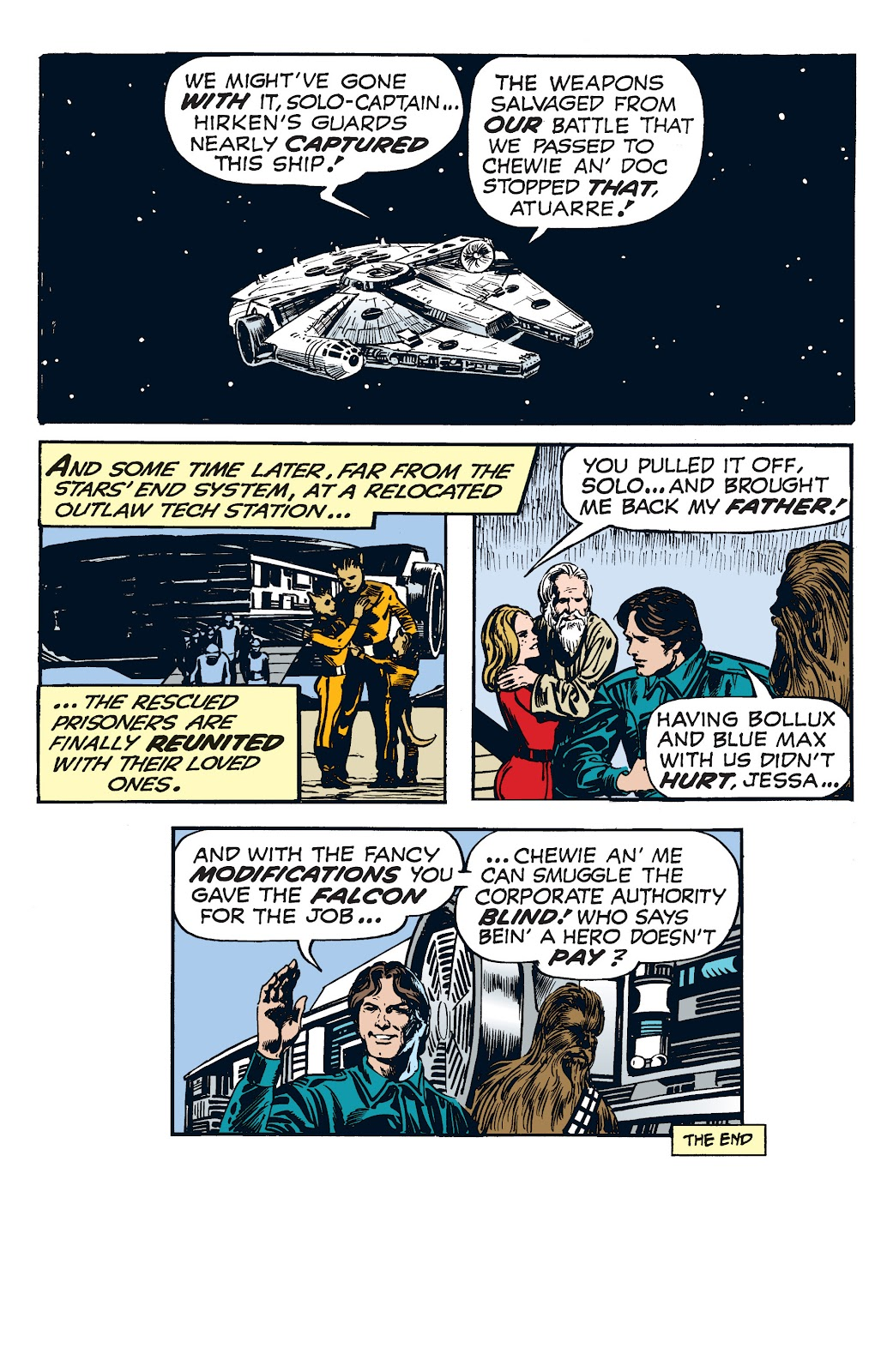 Read online Star Wars Legends: The Newspaper Strips - Epic Collection comic -  Issue # TPB (Part 4) - 80