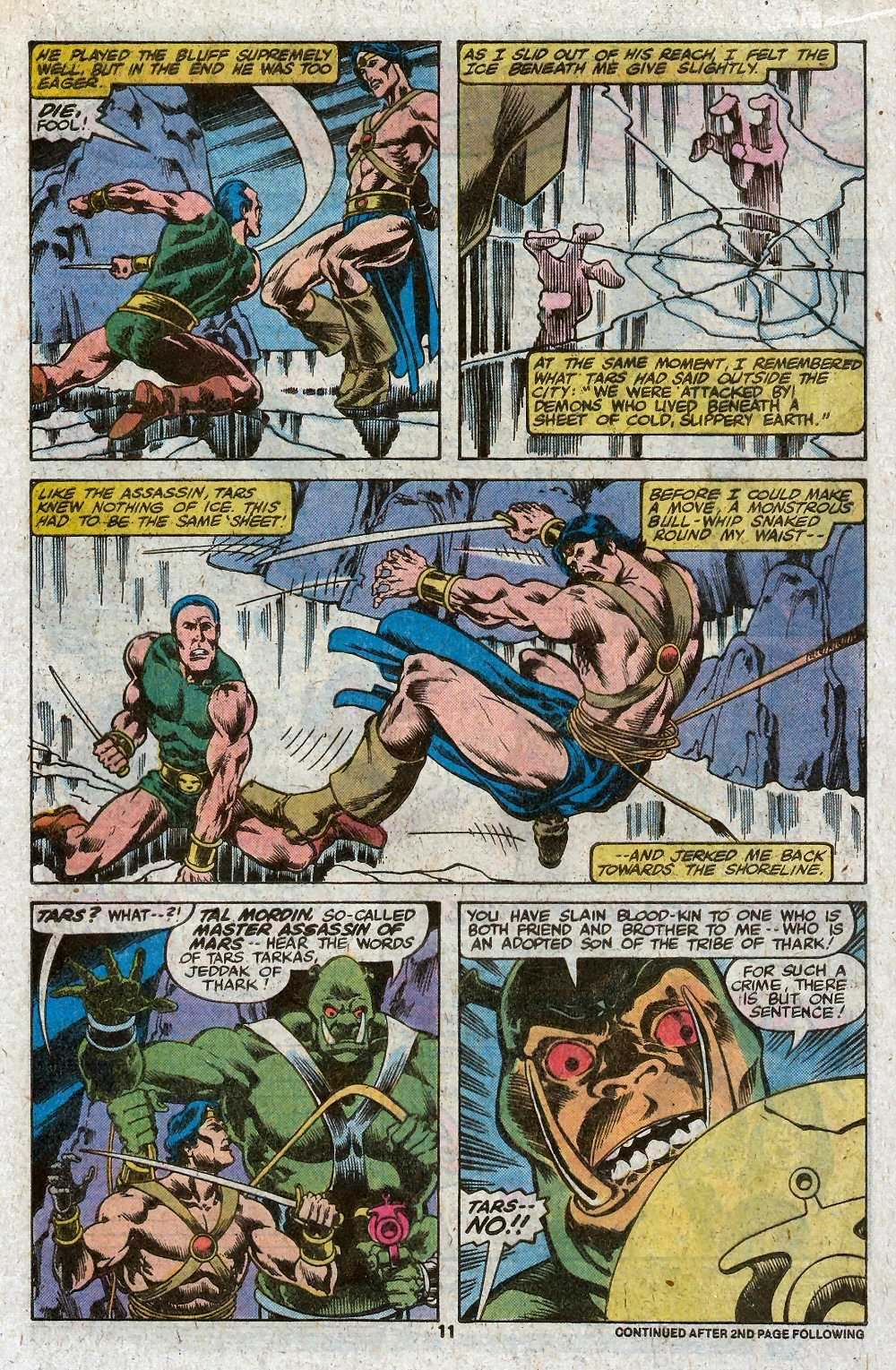 John Carter Warlord of Mars issue 27 - Page 13