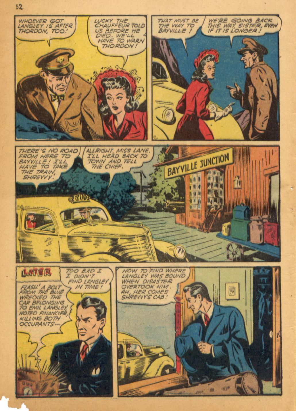 Read online Shadow Comics comic -  Issue #32 - 63