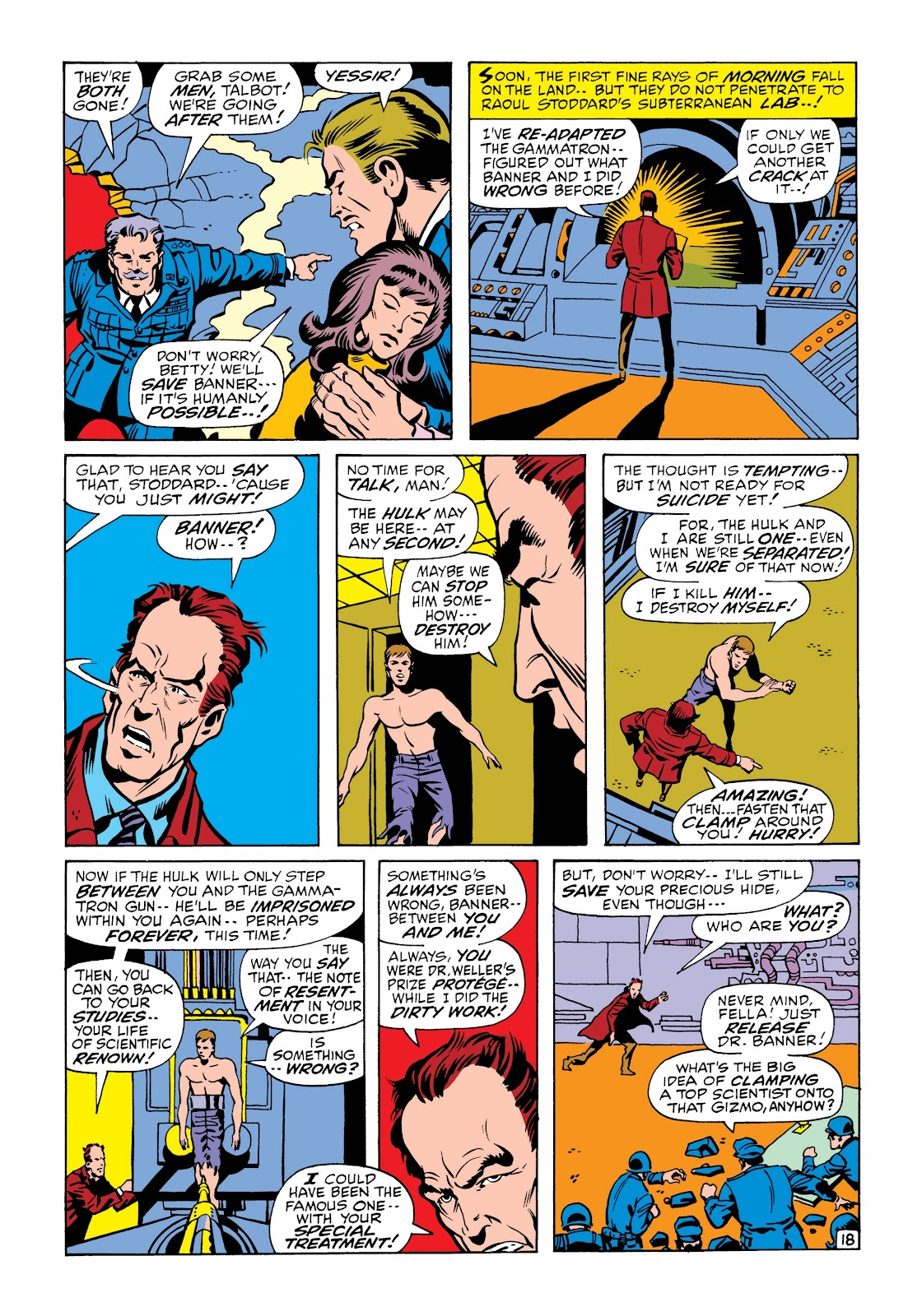Read online Marvel Masterworks: The Incredible Hulk comic -  Issue # TPB 6 (Part 2) - 91