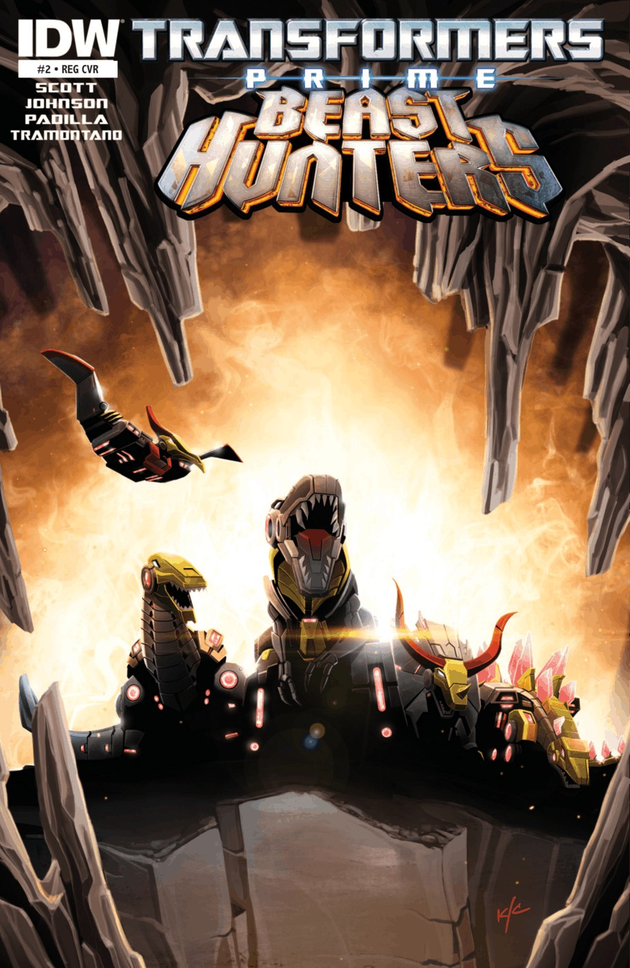 Read online Transformers Prime: Beast Hunters comic -  Issue #2 - 1