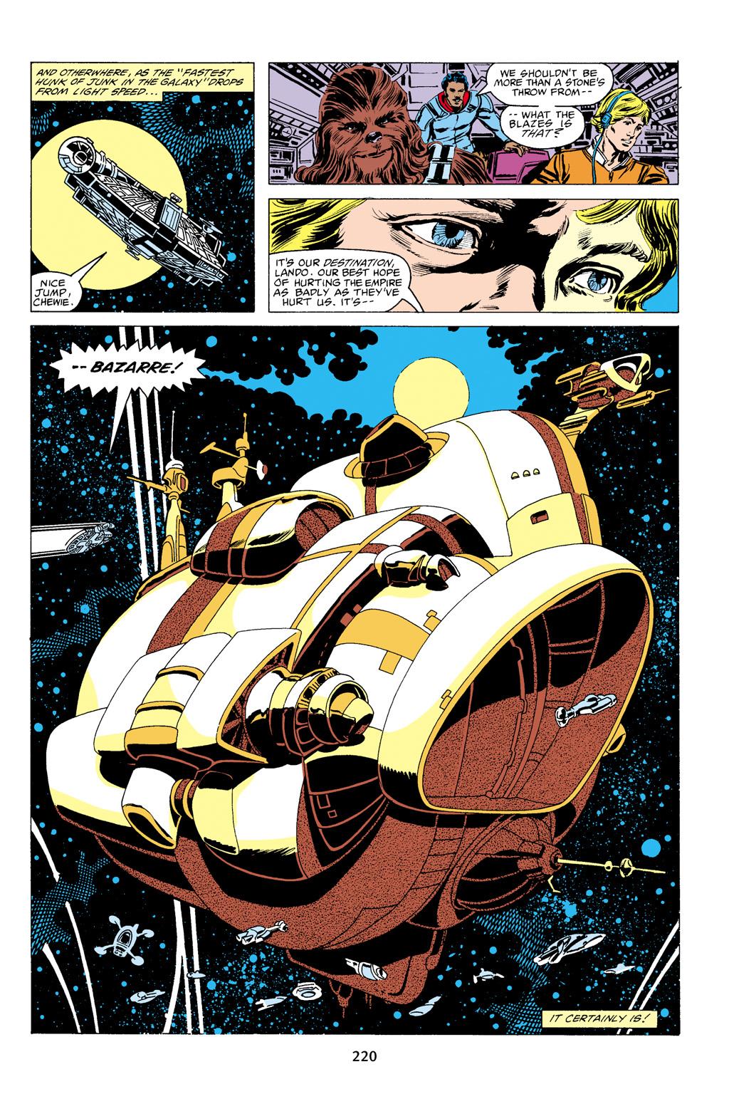 Read online Star Wars Omnibus comic -  Issue # Vol. 16 - 217