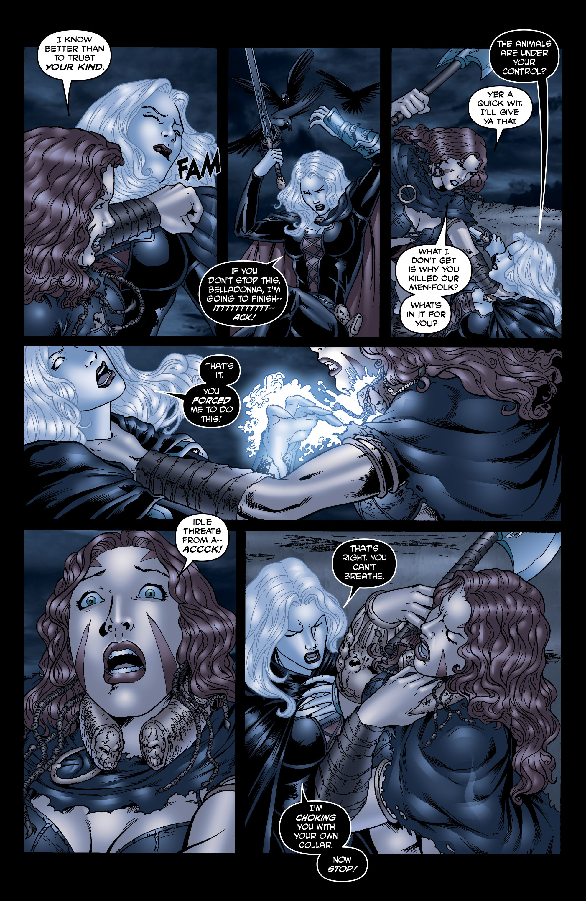 Read online Belladonna: Origins comic -  Issue #7 - 15