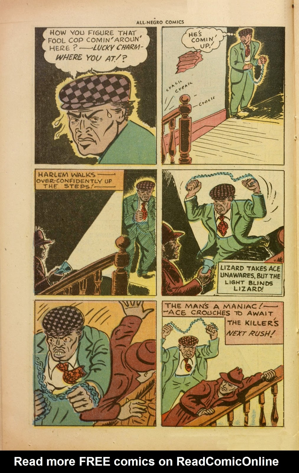 All-Negro Comics issue Full - Page 16