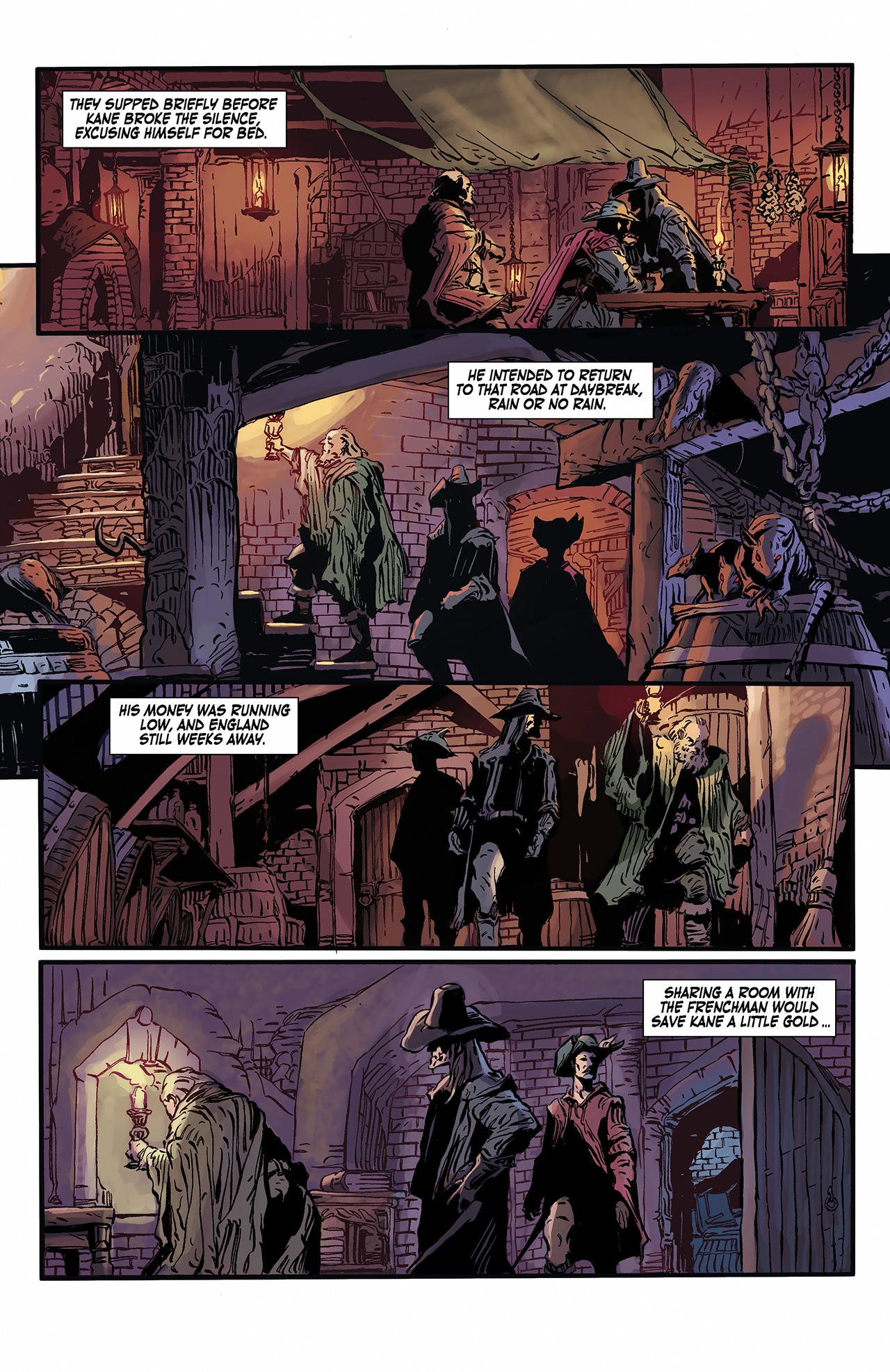 Read online Solomon Kane: Death's Black Riders comic -  Issue #2 - 9