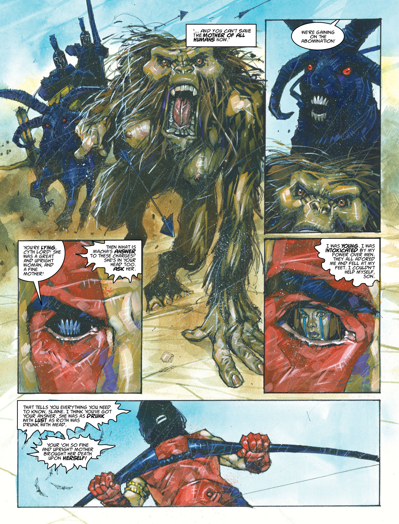 Read online 2000 AD comic -  Issue #1987 - 13
