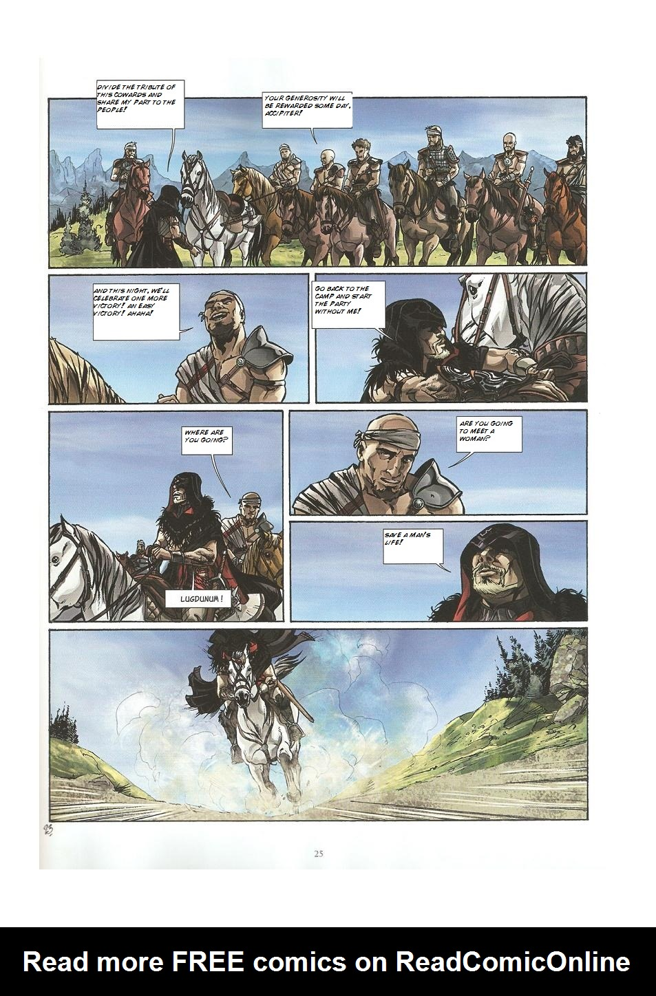 Read online Assassin's Creed (2009) comic -  Issue #3 - 25