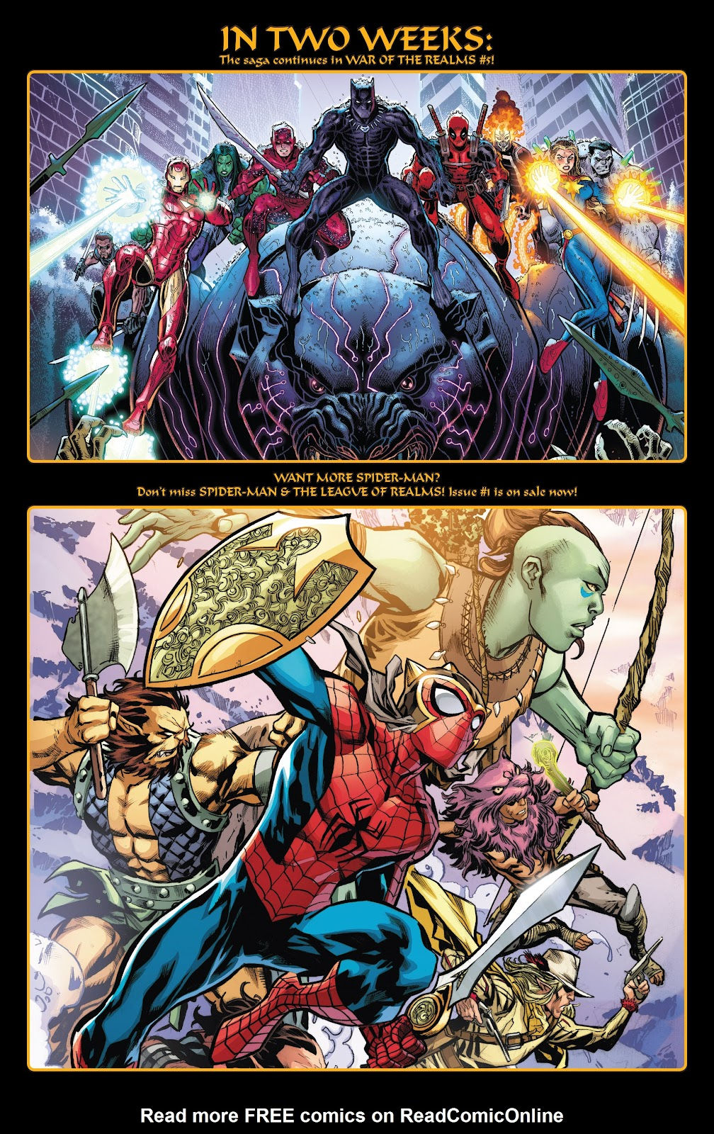 Read online War of the Realms Strikeforce: The War Avengers comic -  Issue # Full - 33