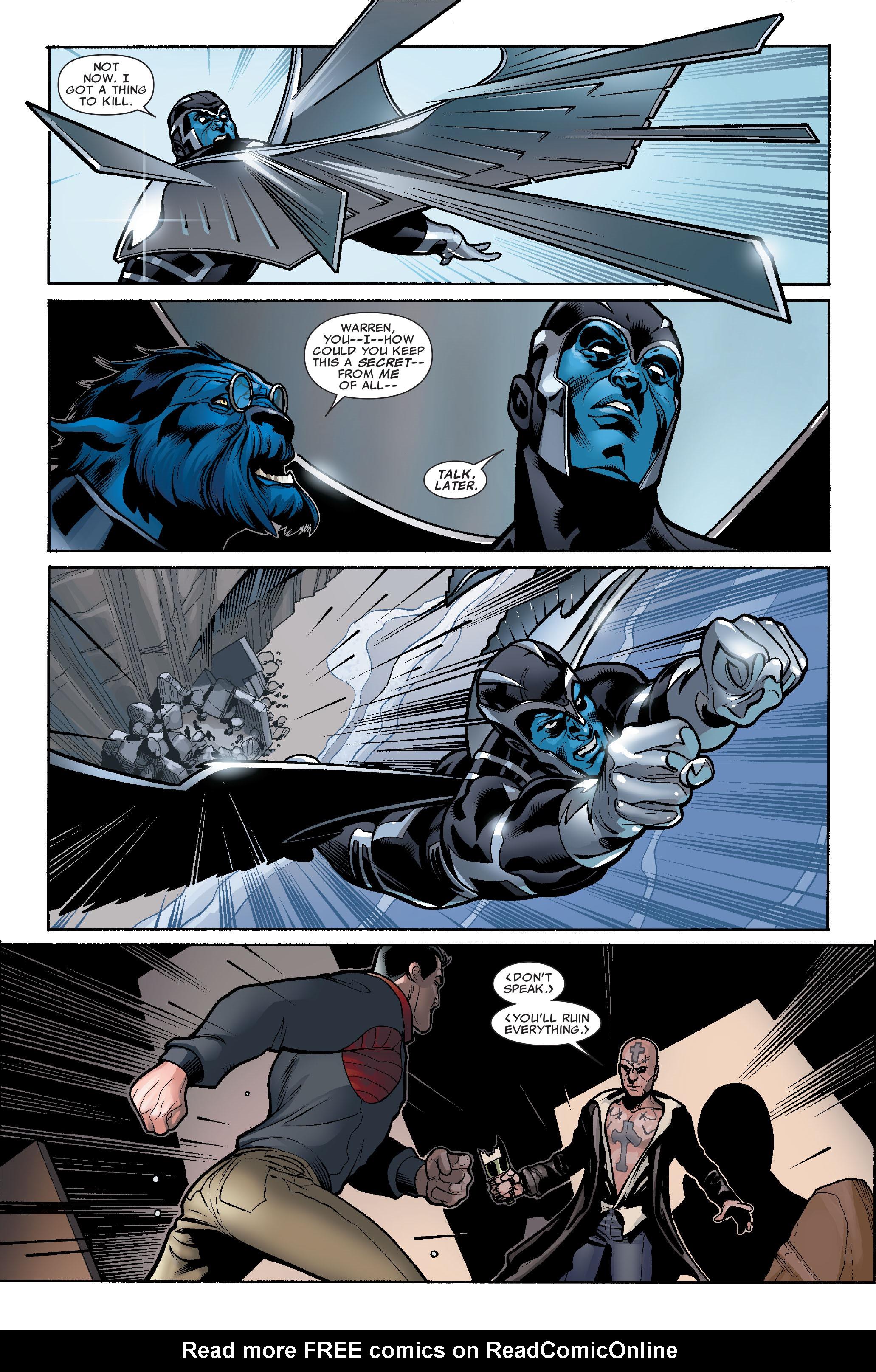 Read online Uncanny X-Men (1963) comic -  Issue #507 - 10