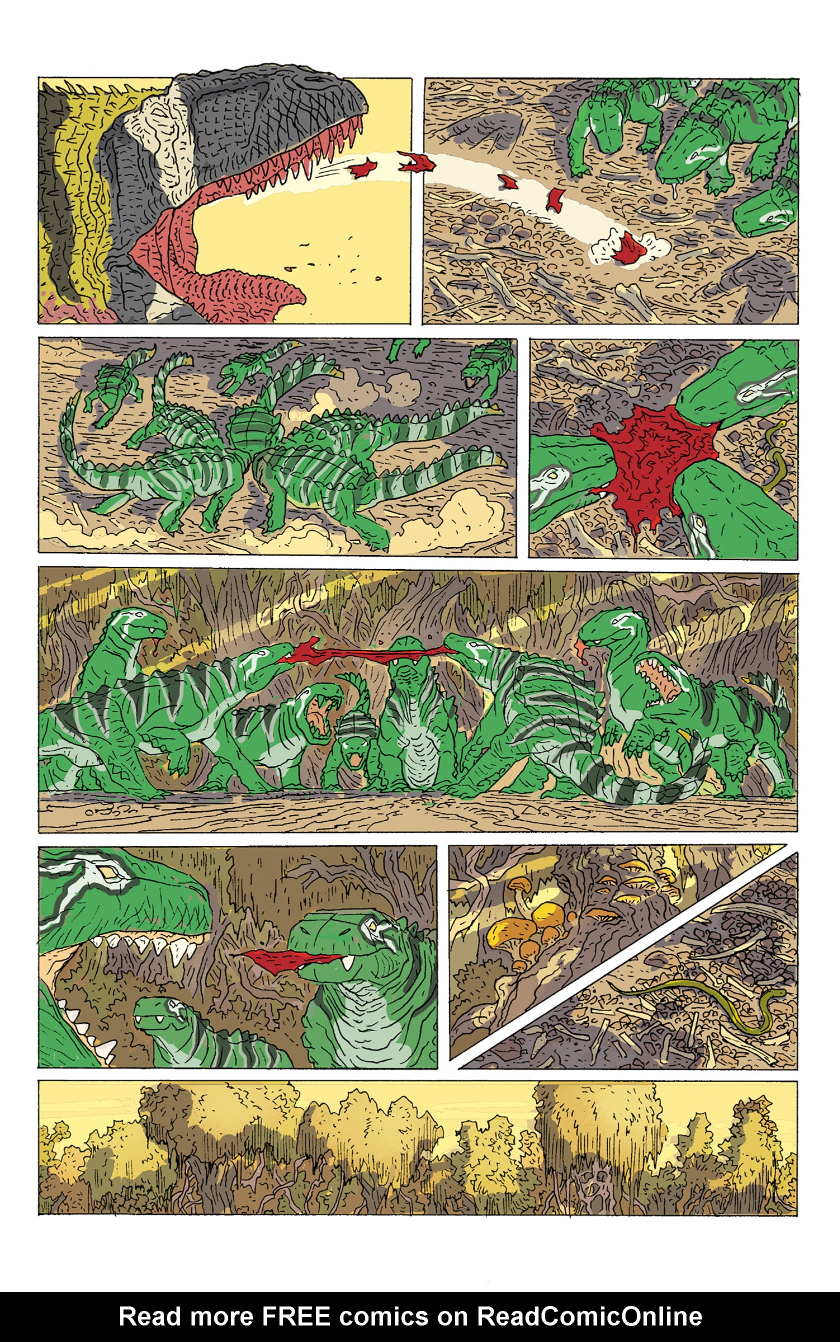 Read online Age of Reptiles: Ancient Egyptians comic -  Issue #2 - 20
