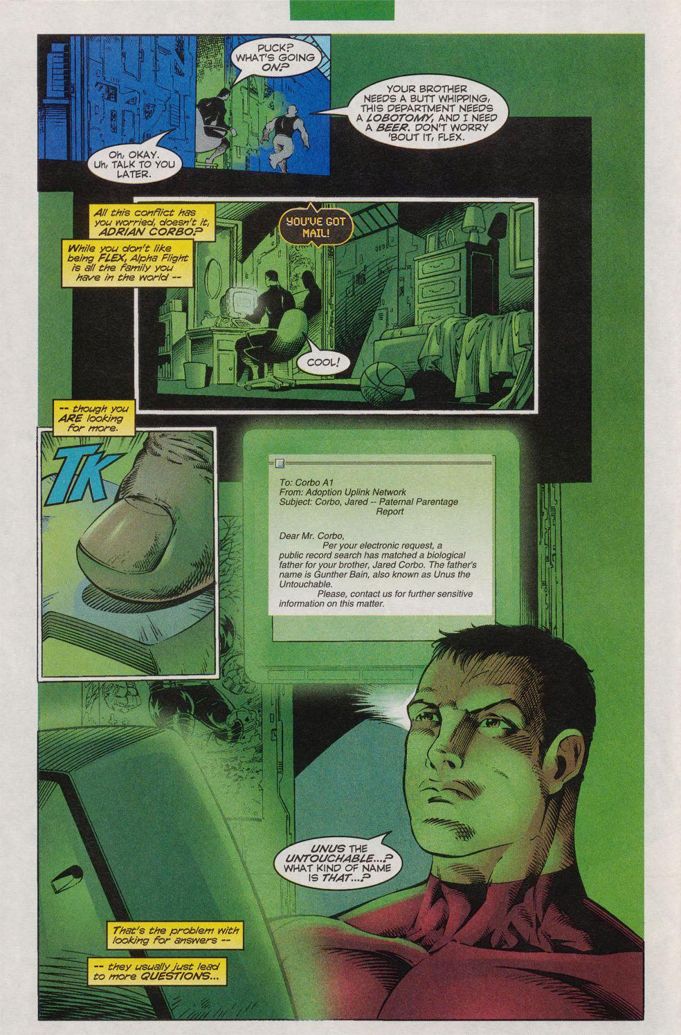 Read online Alpha Flight (1997) comic -  Issue #10 - 7
