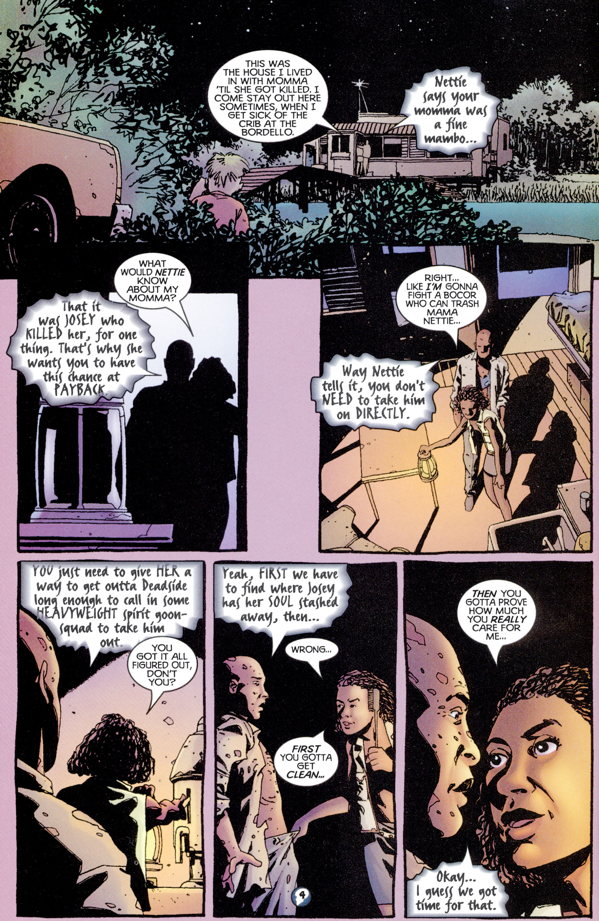 Read online Shadowman (1997) comic -  Issue #8 - 5
