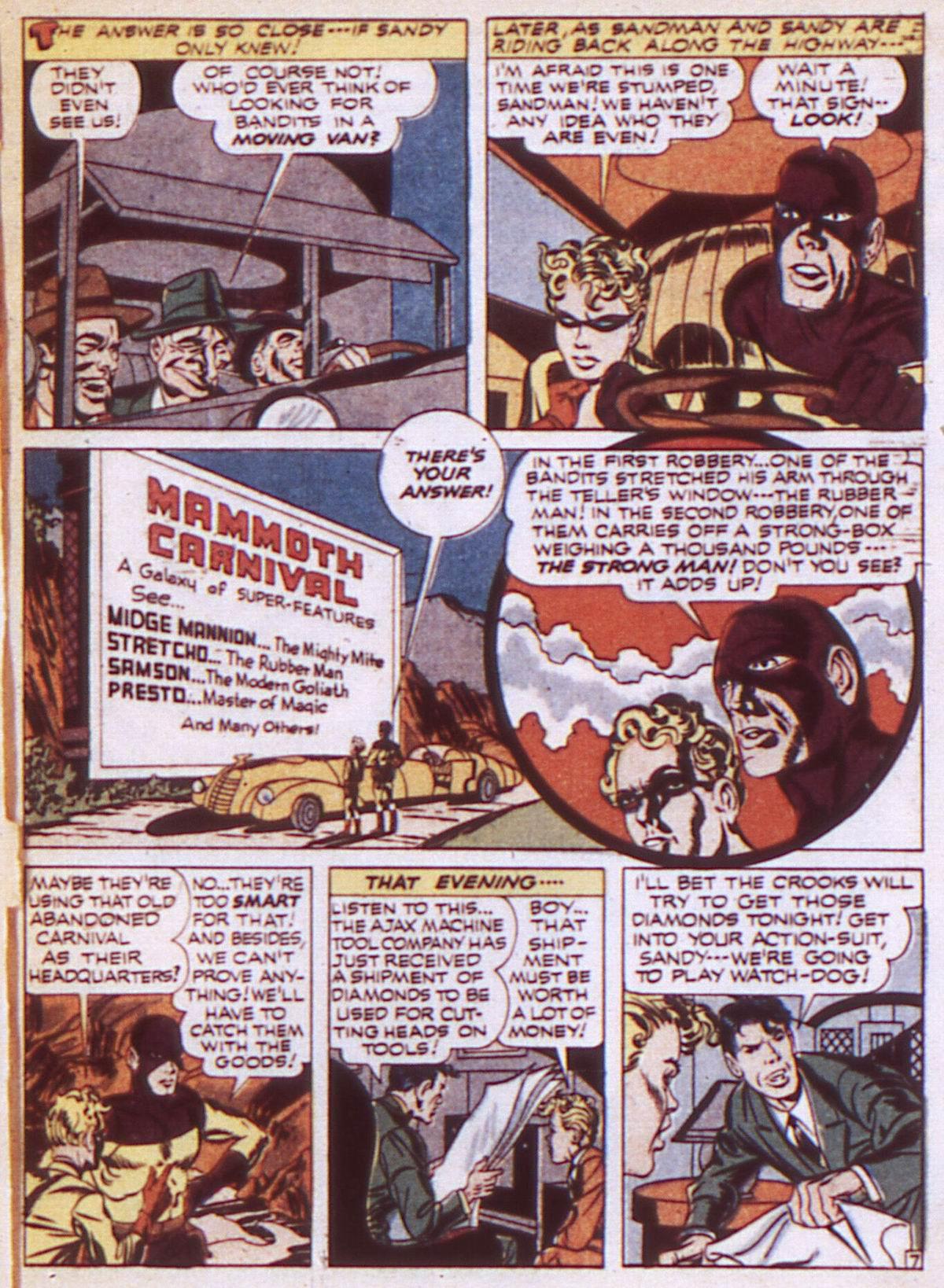 Read online Adventure Comics (1938) comic -  Issue #84 - 9