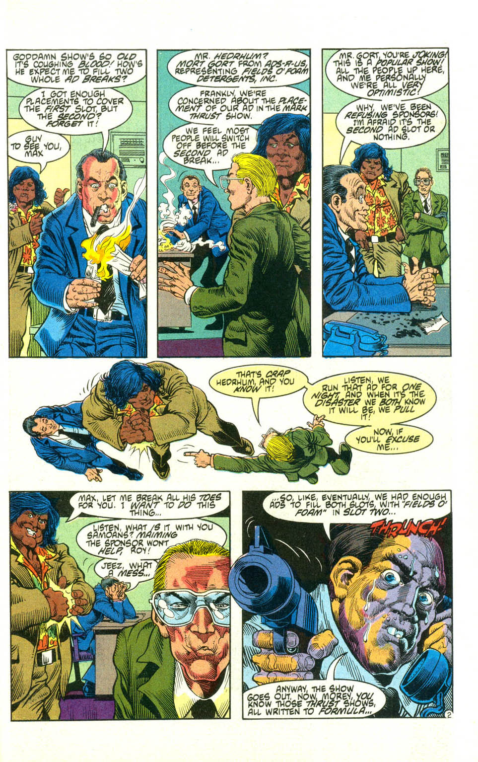 Read online American Flagg! comic -  Issue #21 - 25
