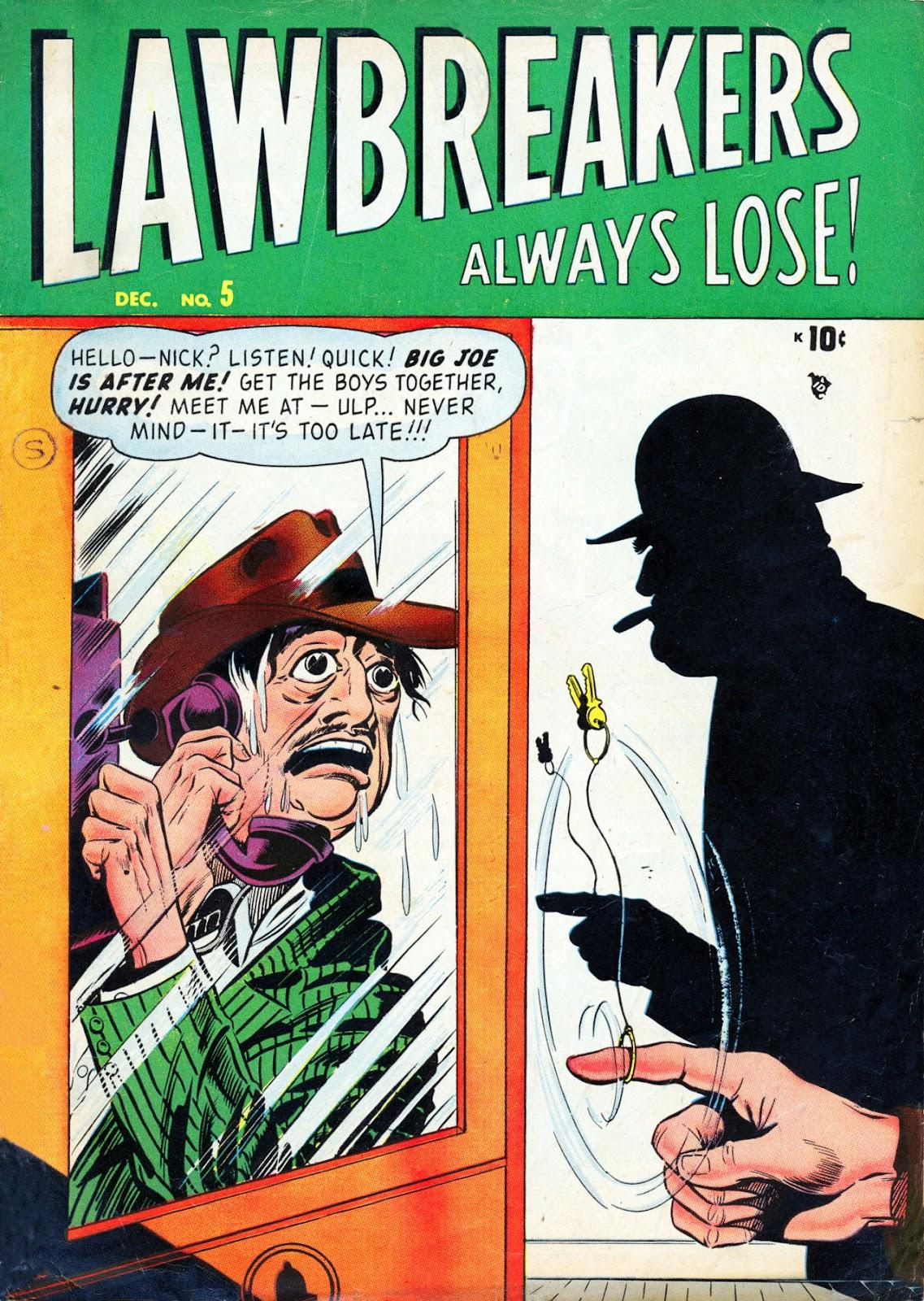 Lawbreakers Always Lose! 5 Page 1